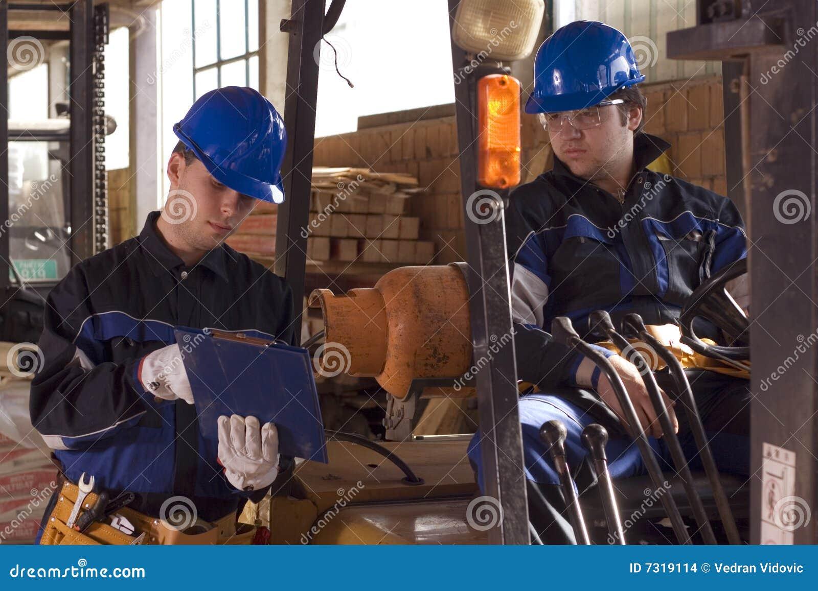 Budowy dwa pracowników miejsce pracy