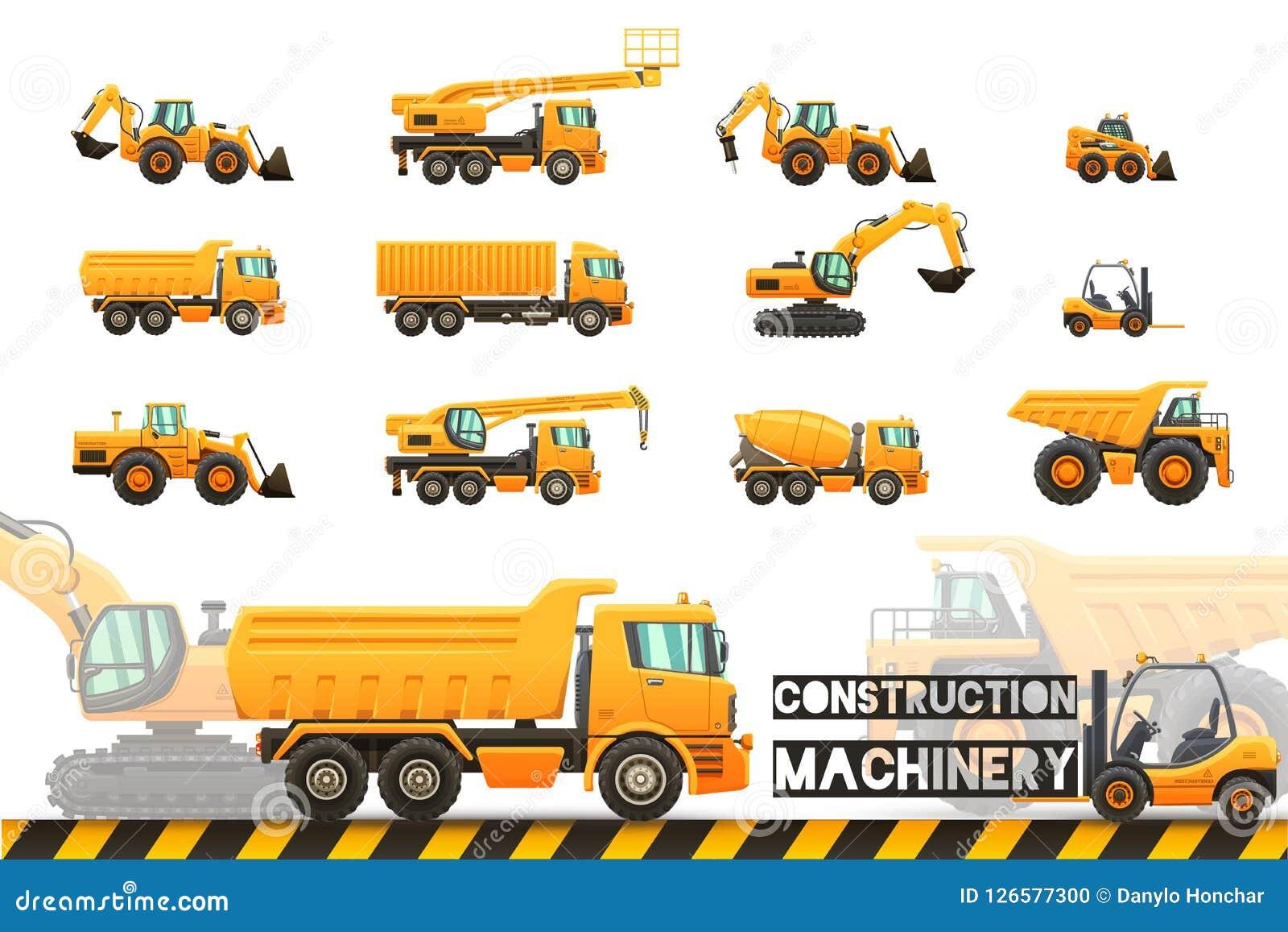 Budowy wyposażenia set Wektoru eps10 odosobnione ilustracje