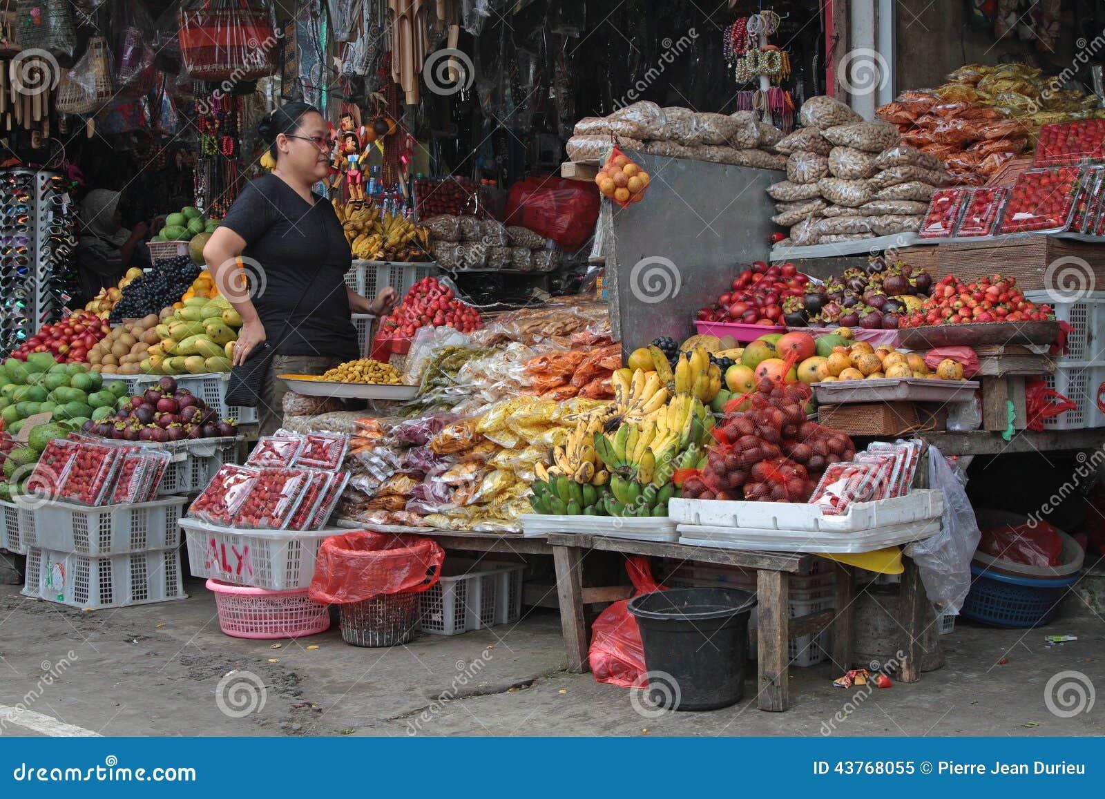 Bedugul Market Store Editorial Image Image Of People 43768055