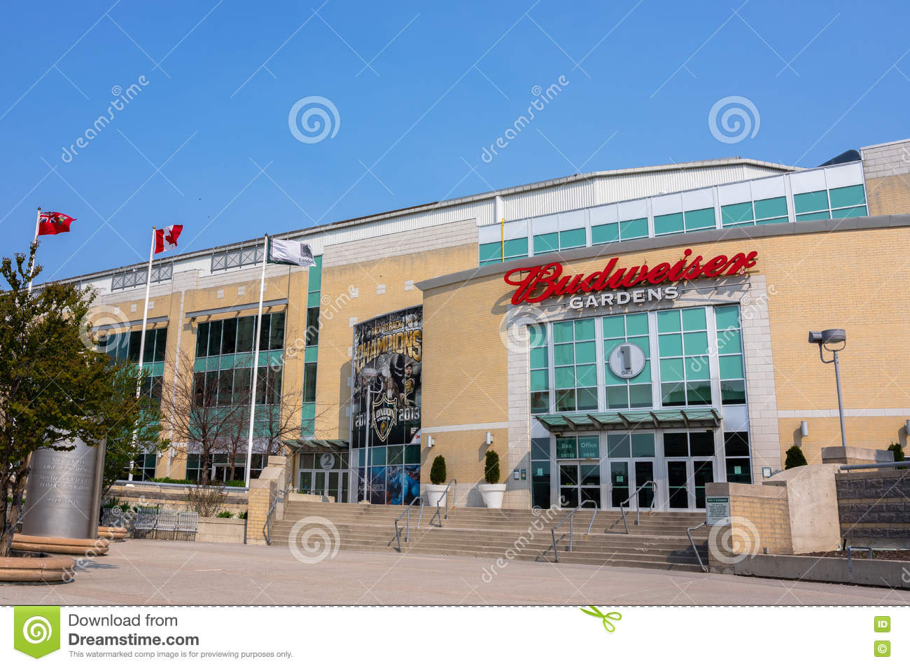 Budweiser Gardens Editorial Photography Image Of Entertainment 71089972
