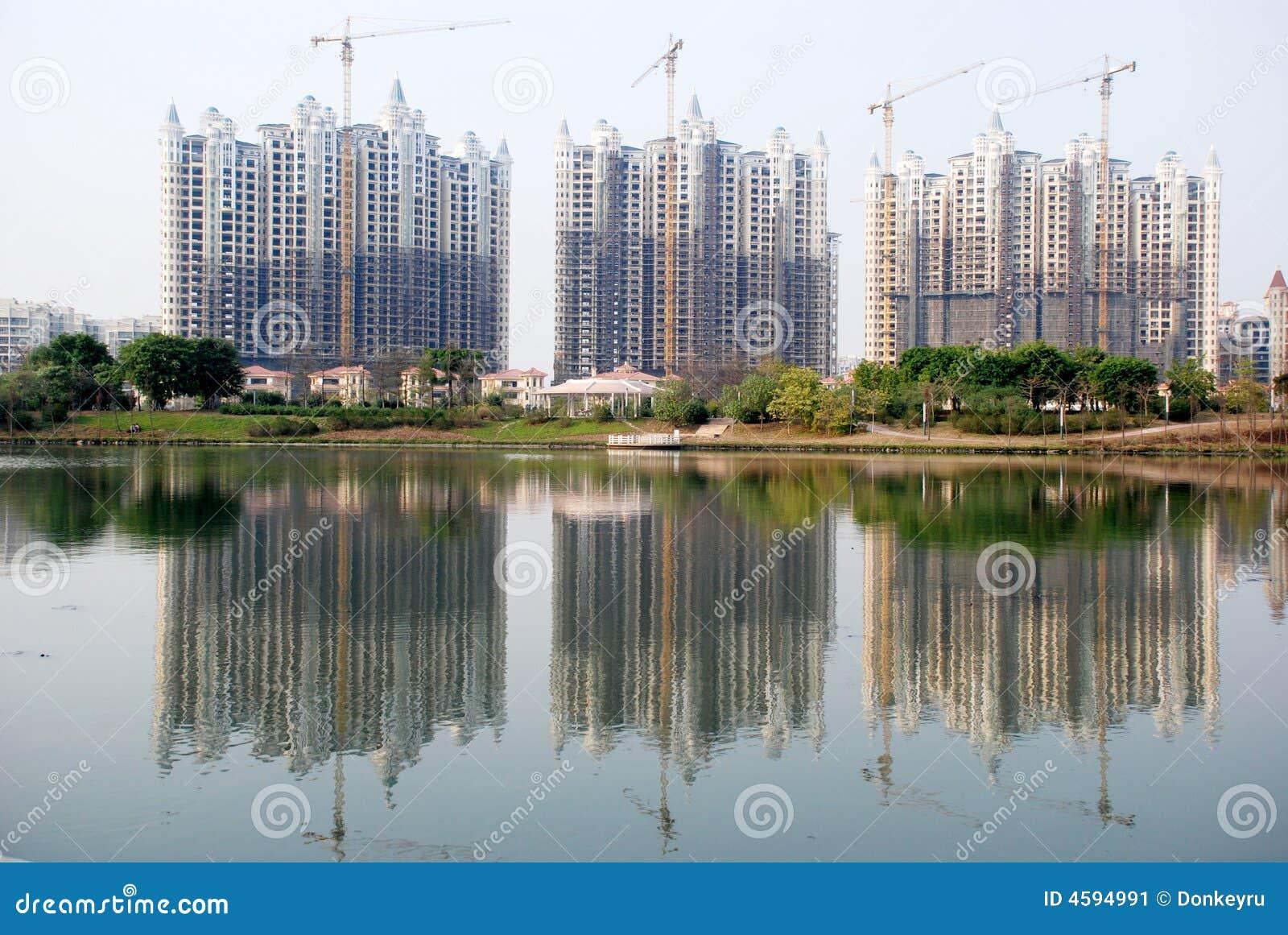 Budynek budowy lakeside