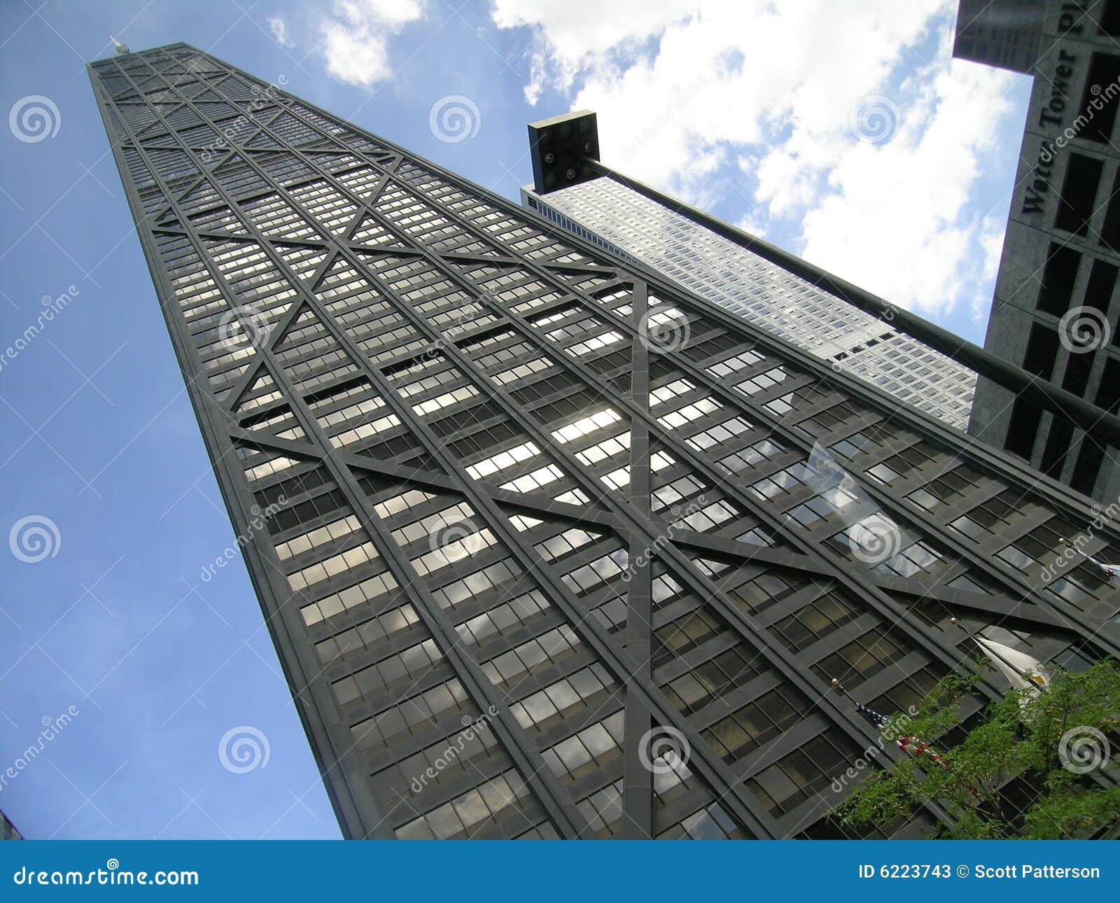 Budynek Chicago Illinois usa John Hancock