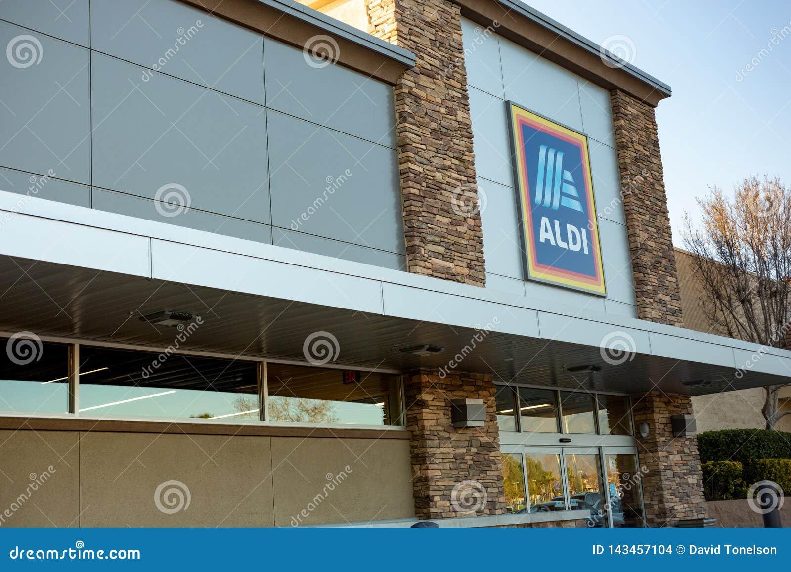 Budynek dla sklepu spożywczego Aldi