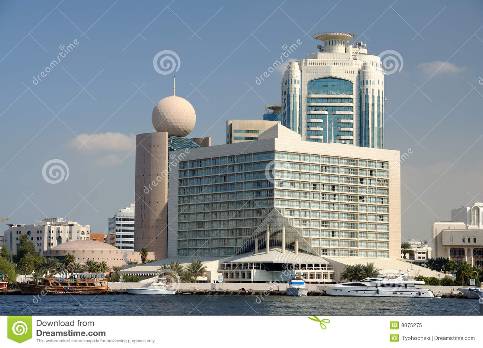 Budynek zatoczka Dubai