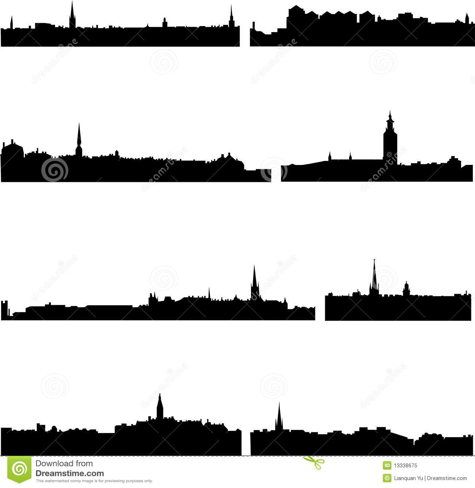 Budynków wysocy wzrosta szwedzi