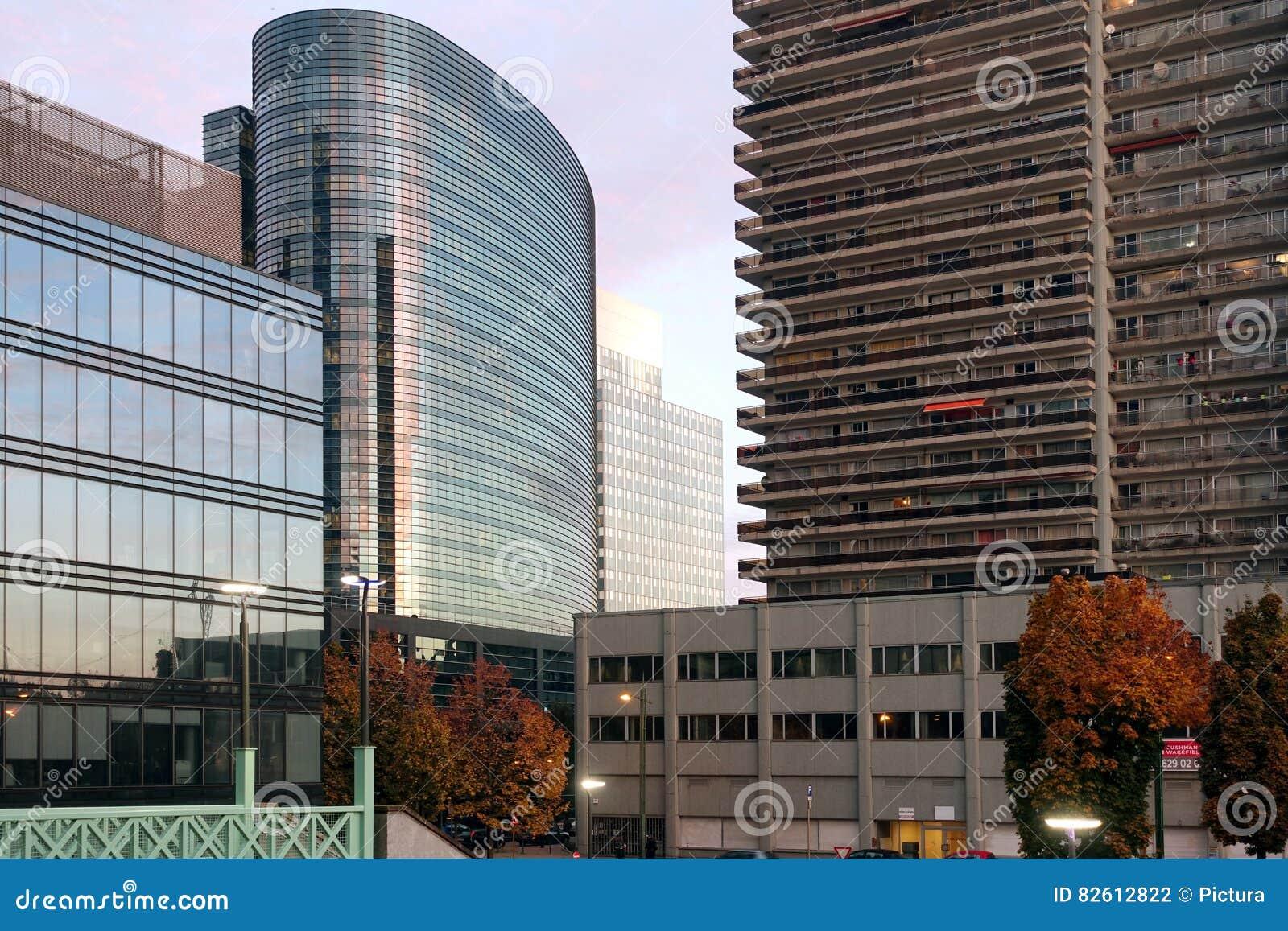 Budynki biurowi i mieszkania, Bruksela, Belgia