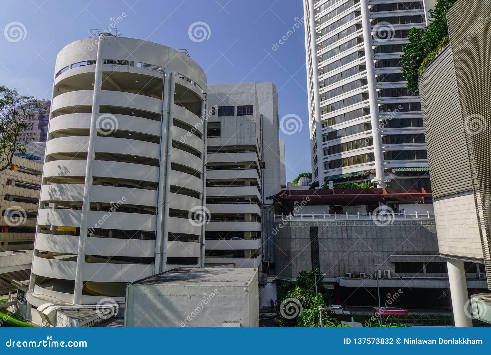Budynki nowożytny Singapore