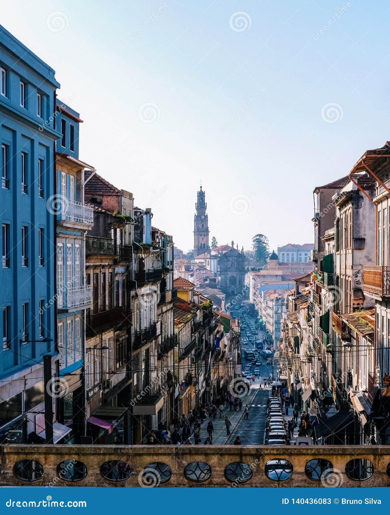 Budynki w Porto Portugal