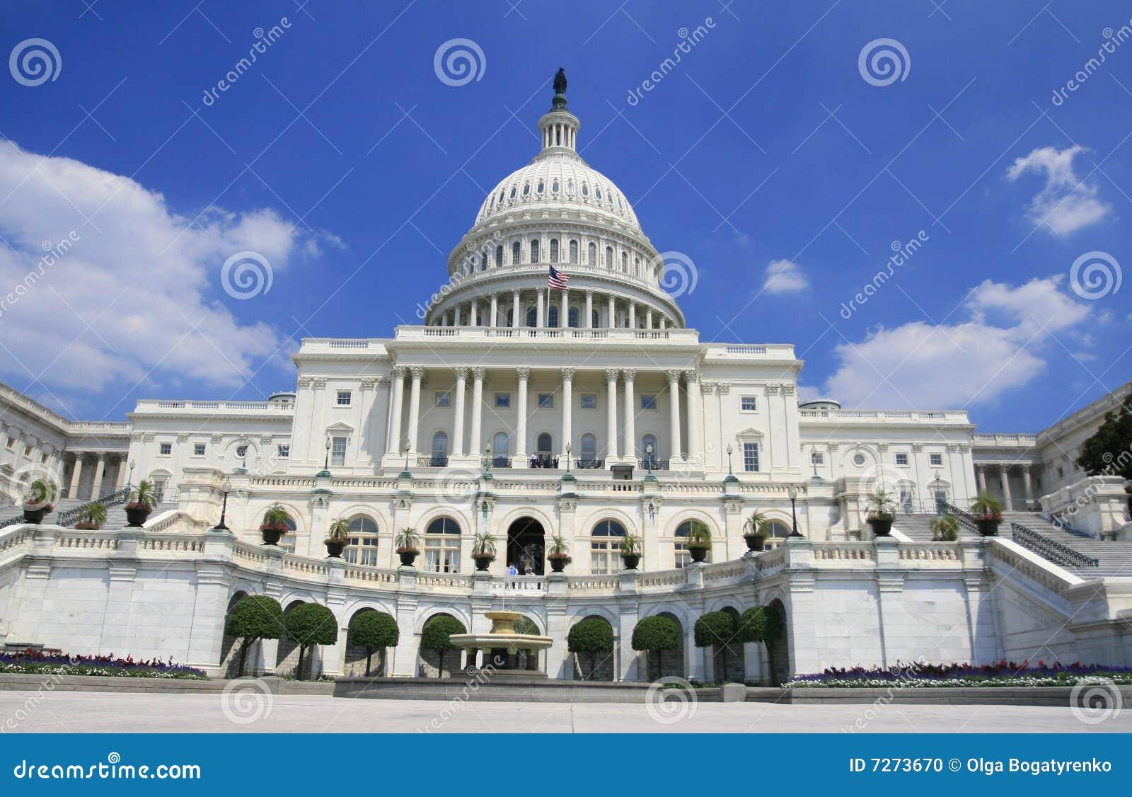 Budynku capitol dc Washington
