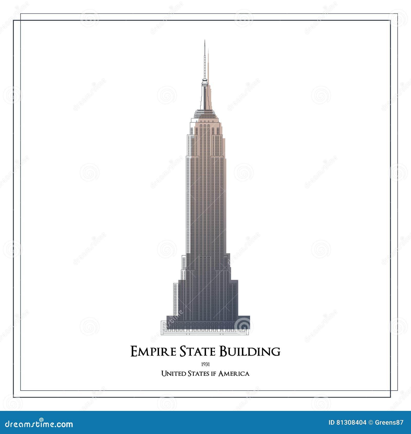 Budynku imperium Manhattan nowy stan usa York