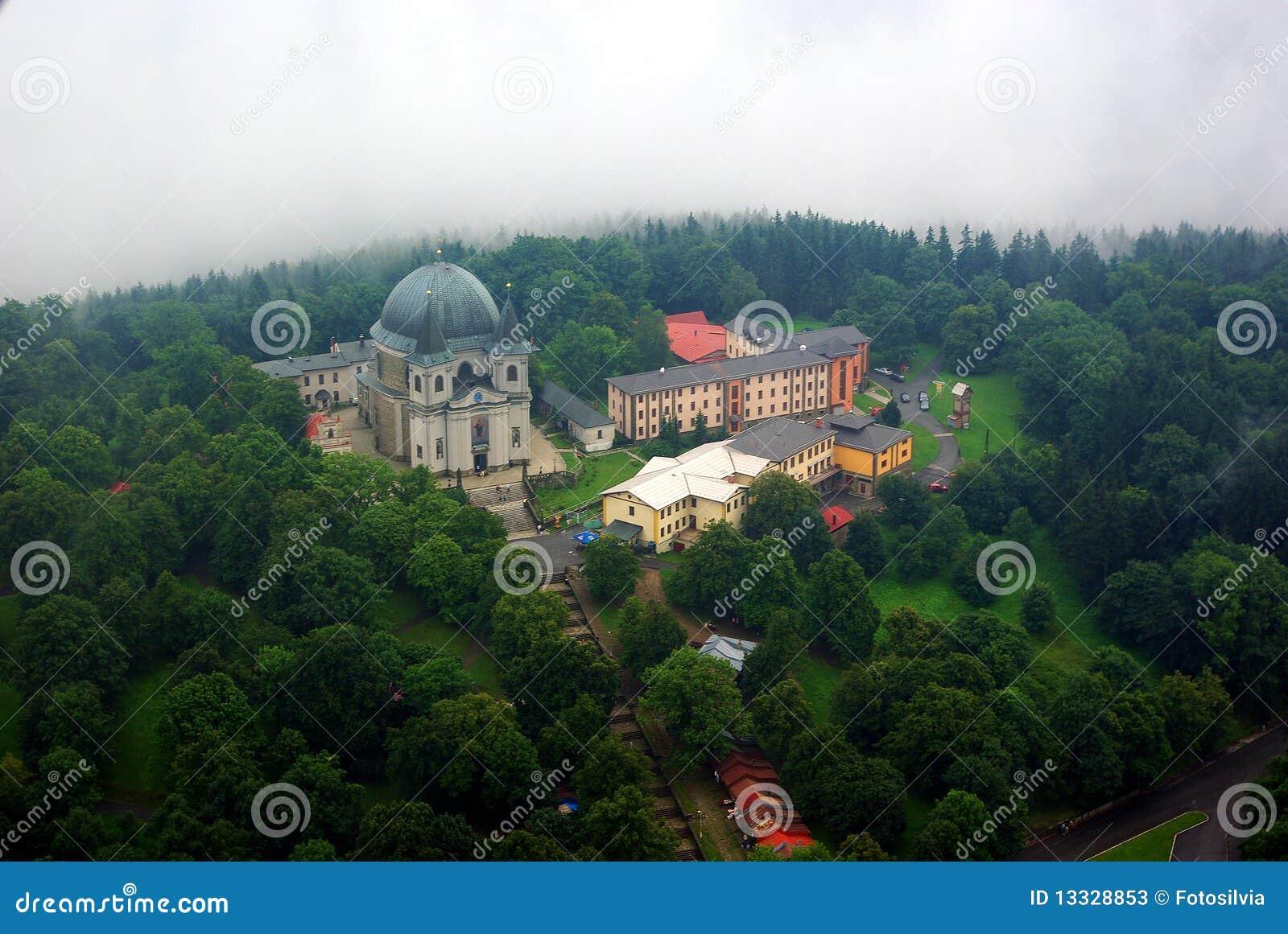 Budynku kościelny hostyn st widok