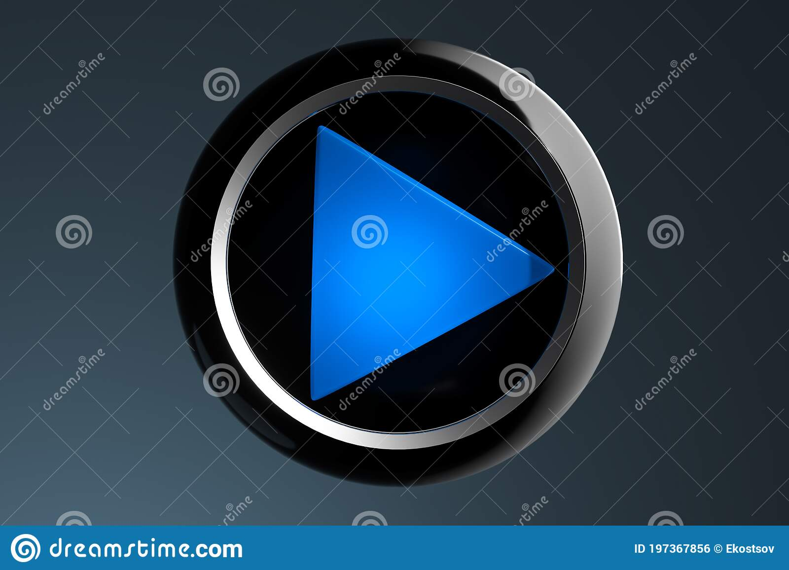 Bue Play Movie Icon On Dark Background. Cinema Projector. Online App For  Watching TV Series And Movies. 3d Rendering Stock Illustration -  Illustration of home, isolated: 197367856