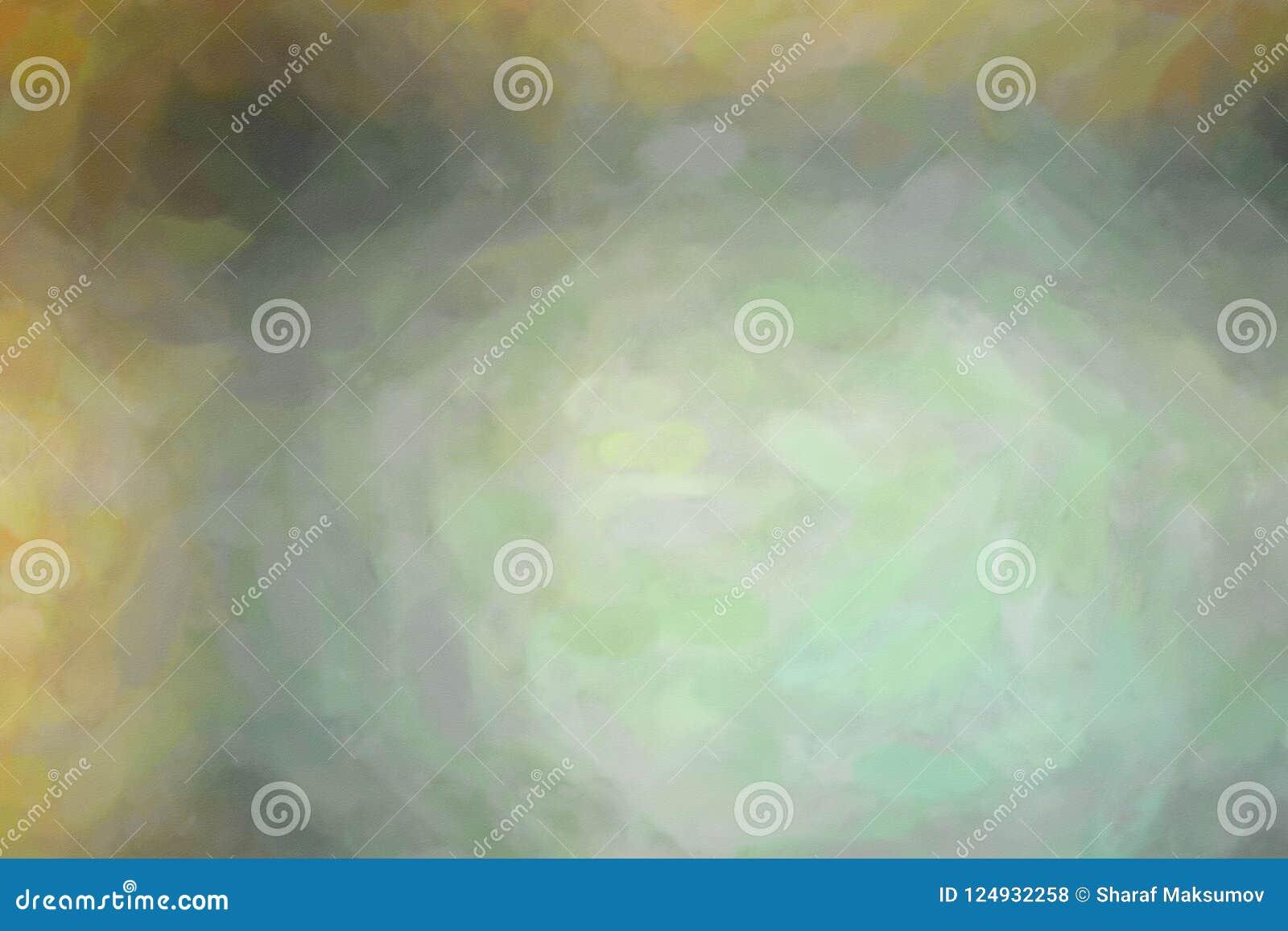 Buen ejemplo abstracto de la pintura amarilla, gris y negra del lavado de la acuarela Fondo hermoso para sus impresiones