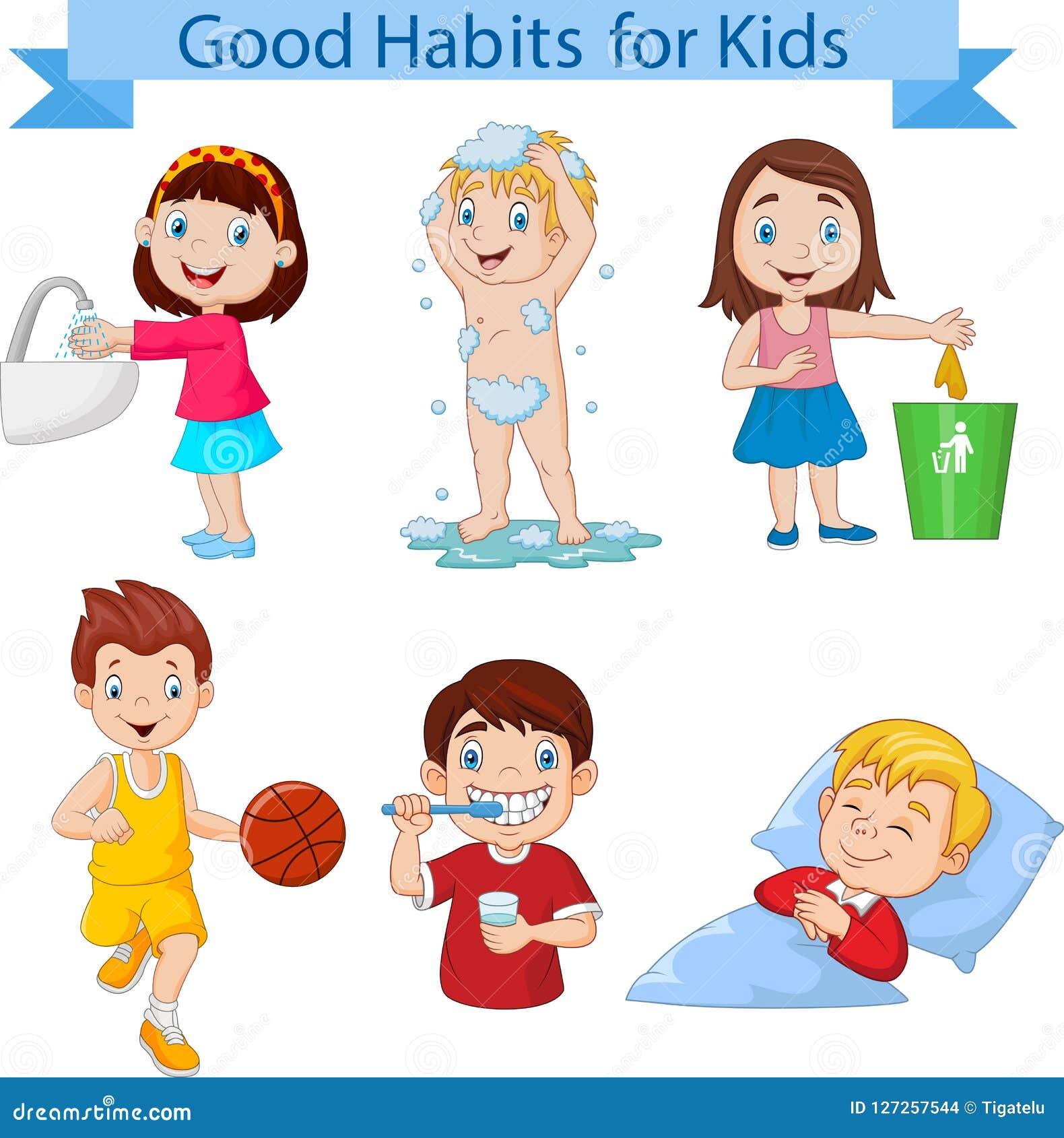como cambiar malos habitos en los niños