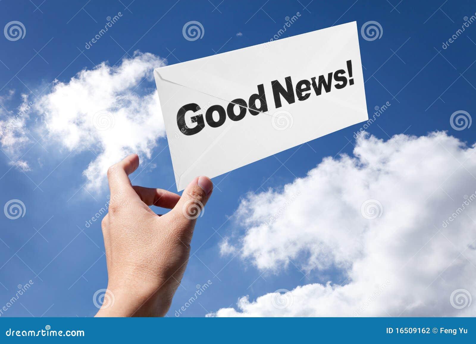 Buenas noticias y sobre