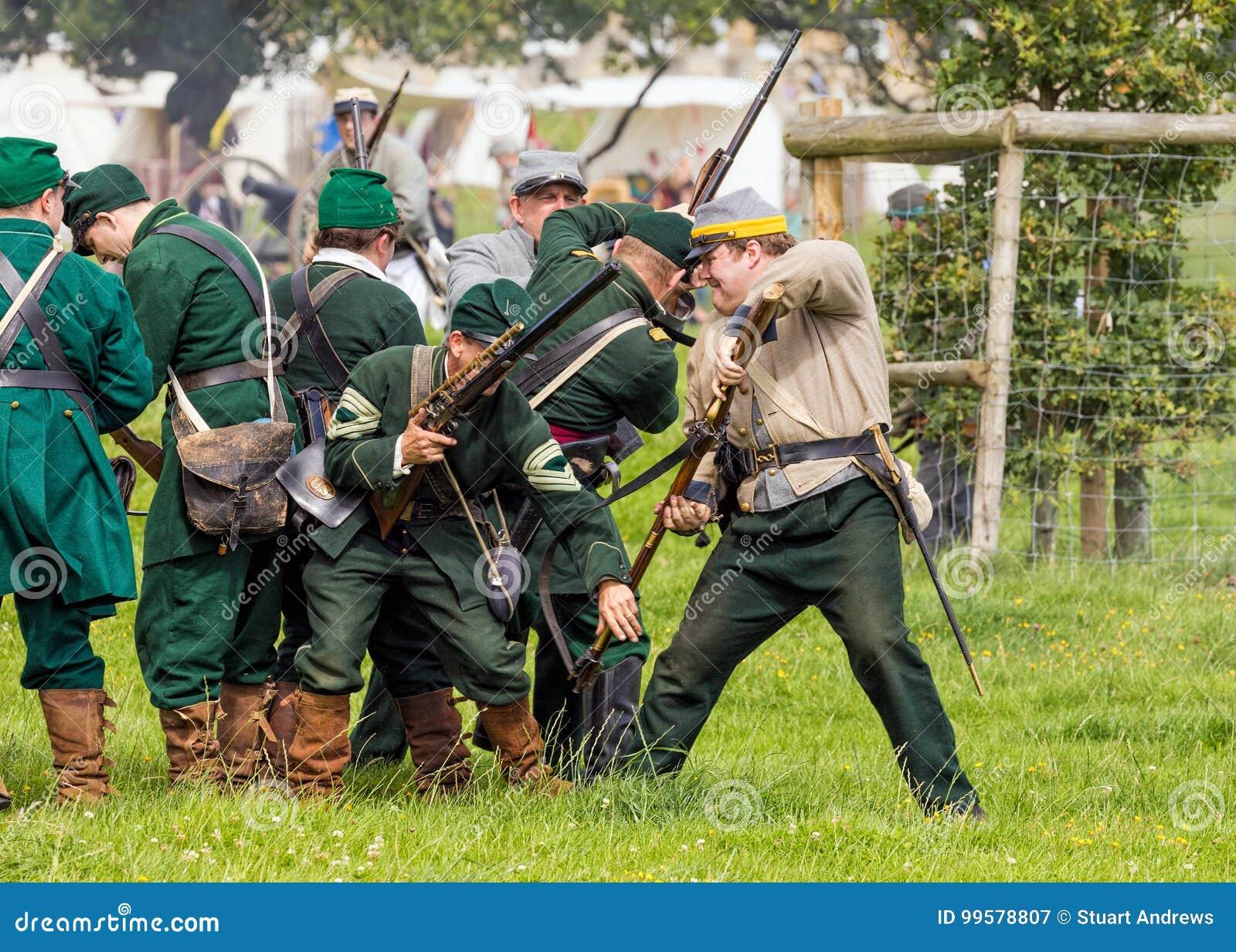 Buenes tiradores del Ejército de la Unión de la guerra civil americana