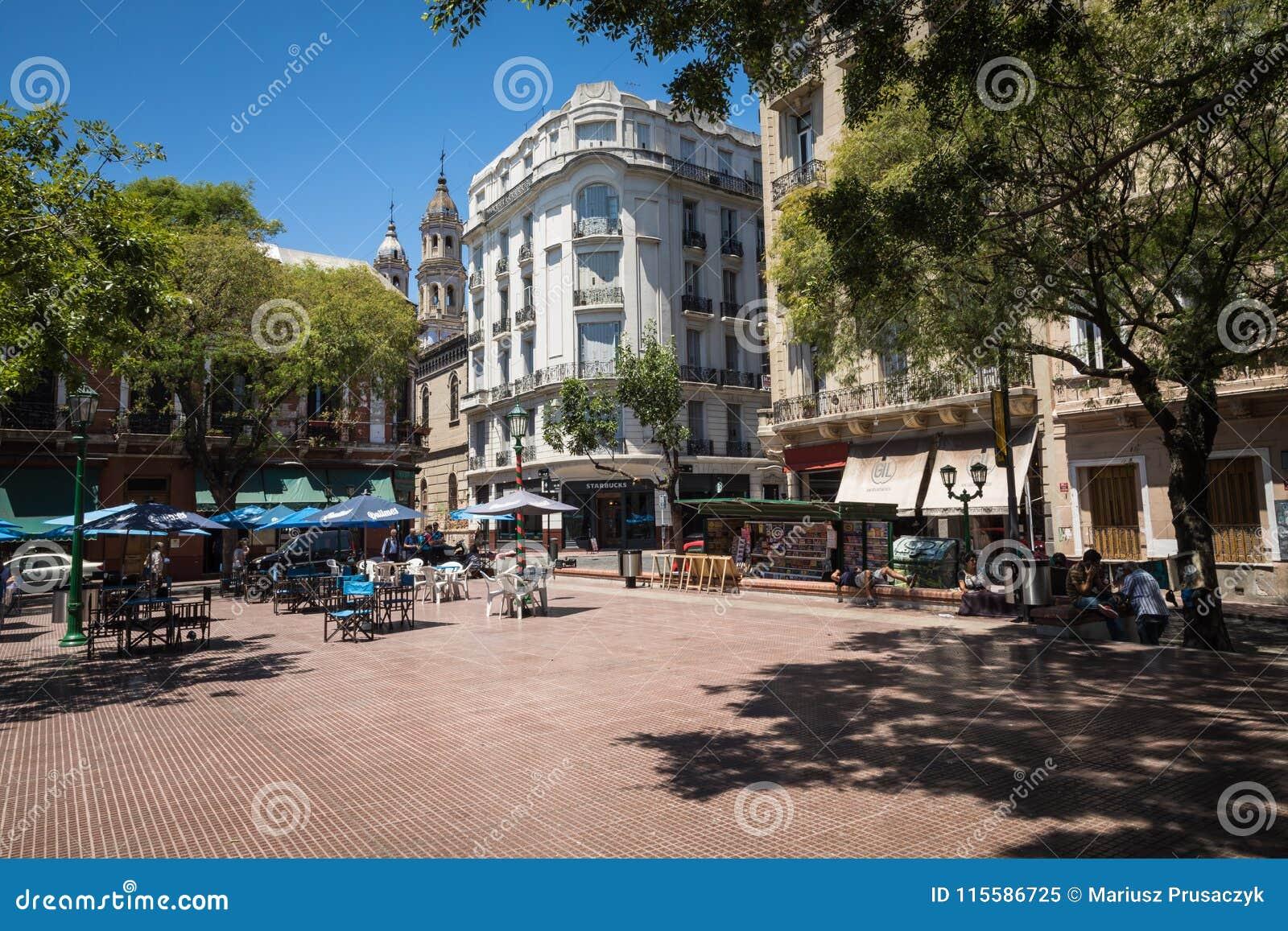 BUENOS AIRES ARGENTYNA, STYCZEŃ, - 30, 2018: Turystyczny destinati