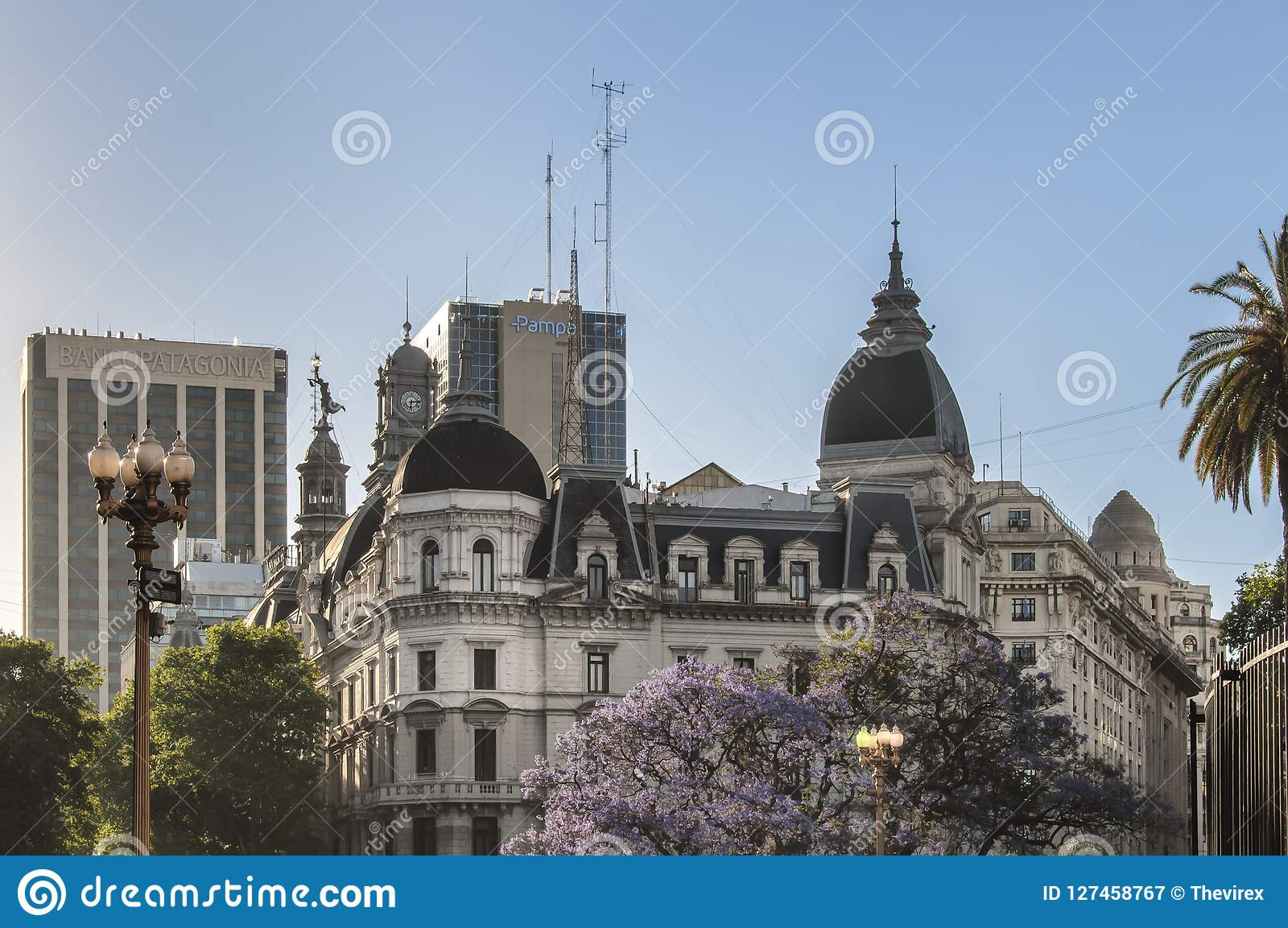 Buenos Aires City building detail view