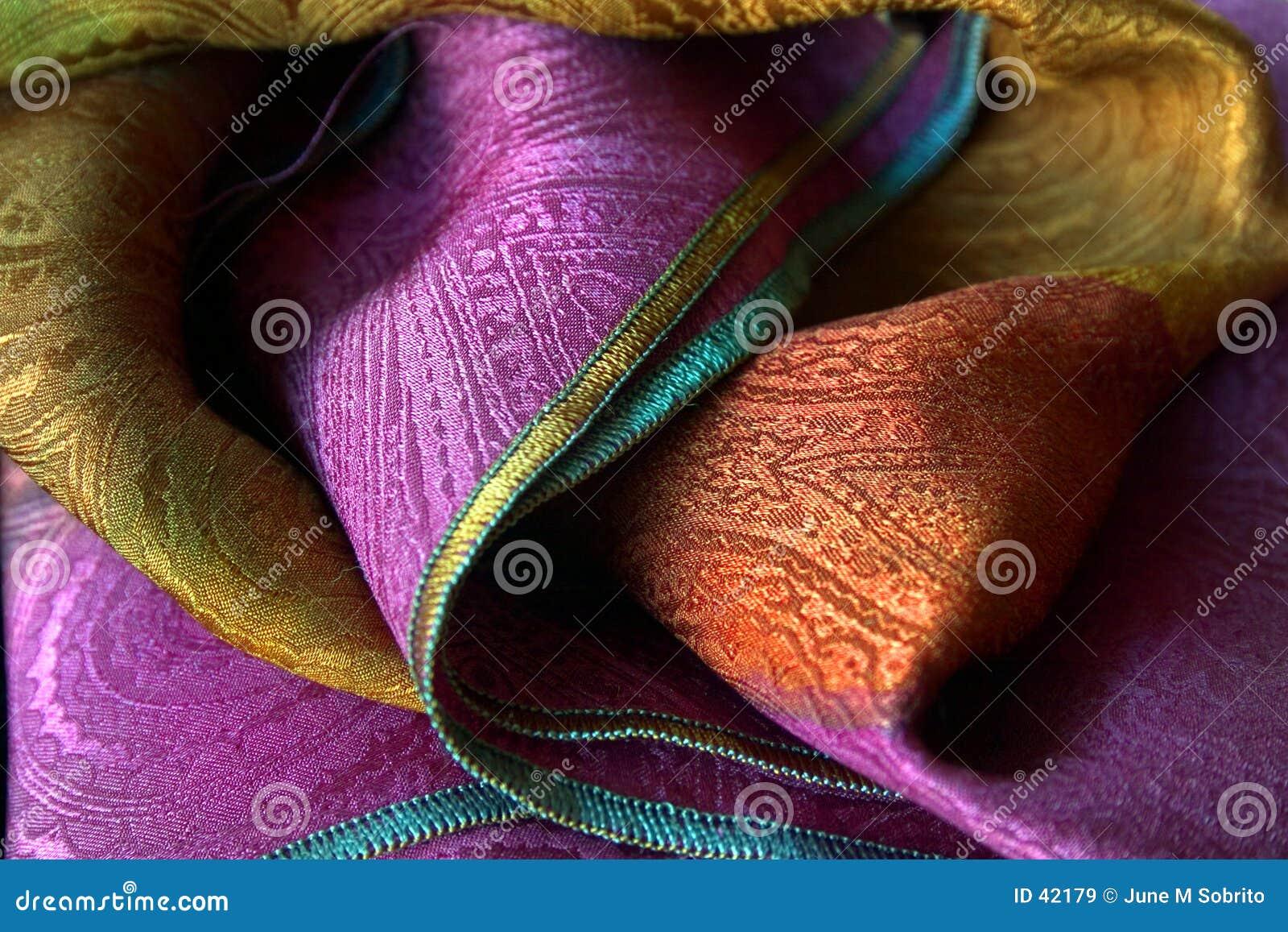 Download Bufanda de seda imagen de archivo. Imagen de ropa, textura - 42179