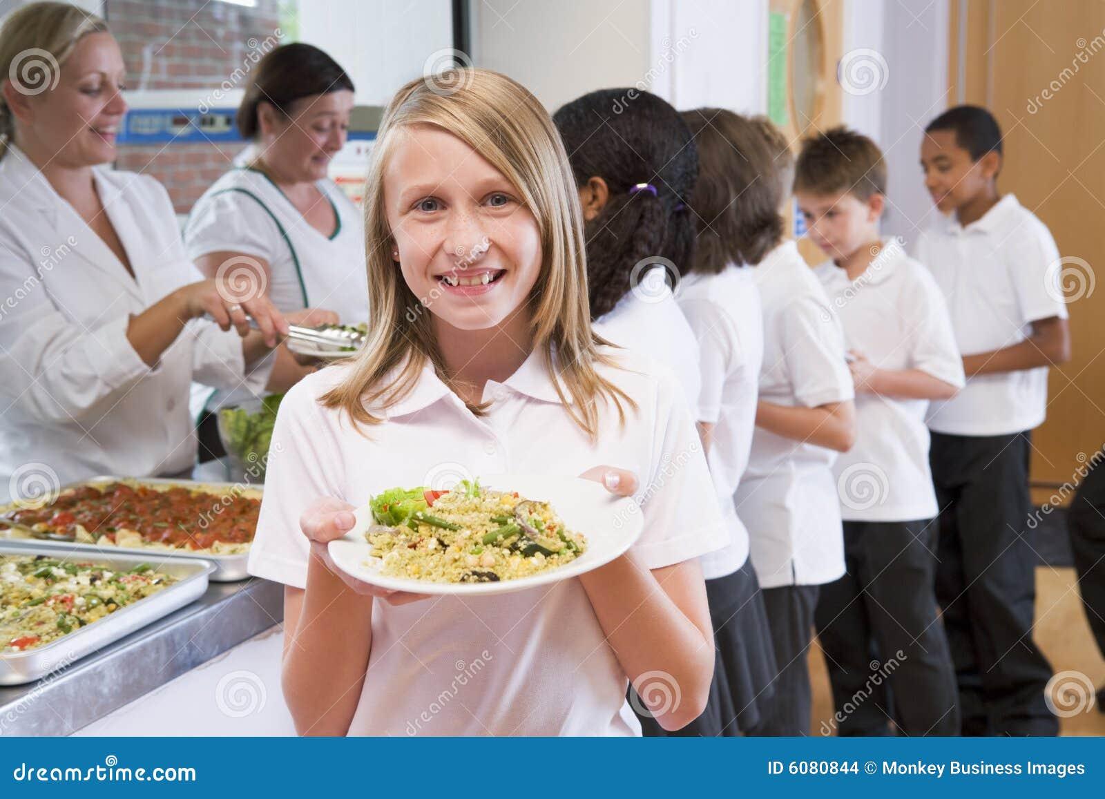 Bufet uczennica szkoły