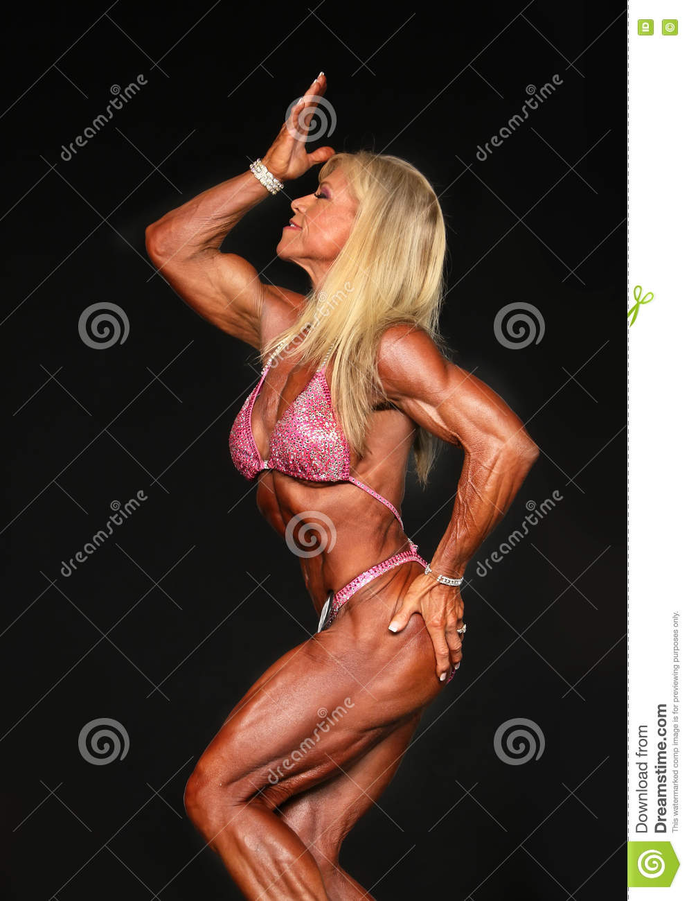 Muscle women mature