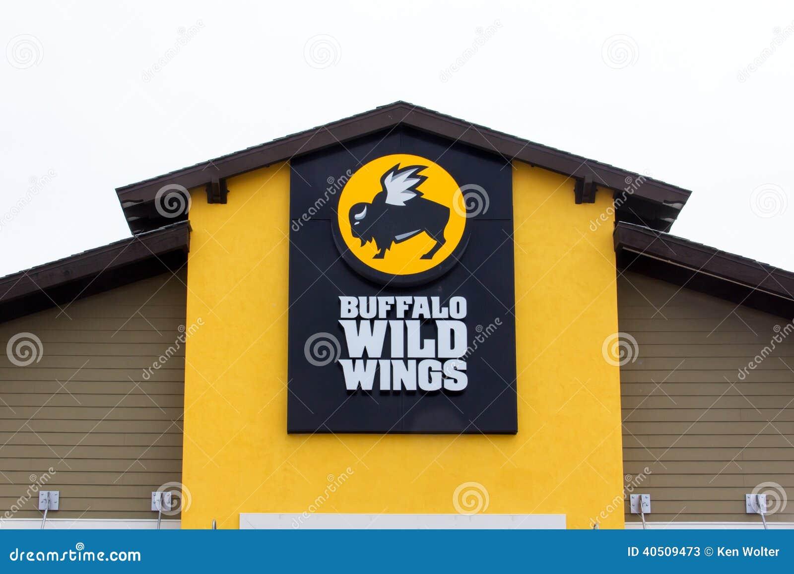 Buffalo Wild Wings Restaurant Editorial Stock Photo Image Of