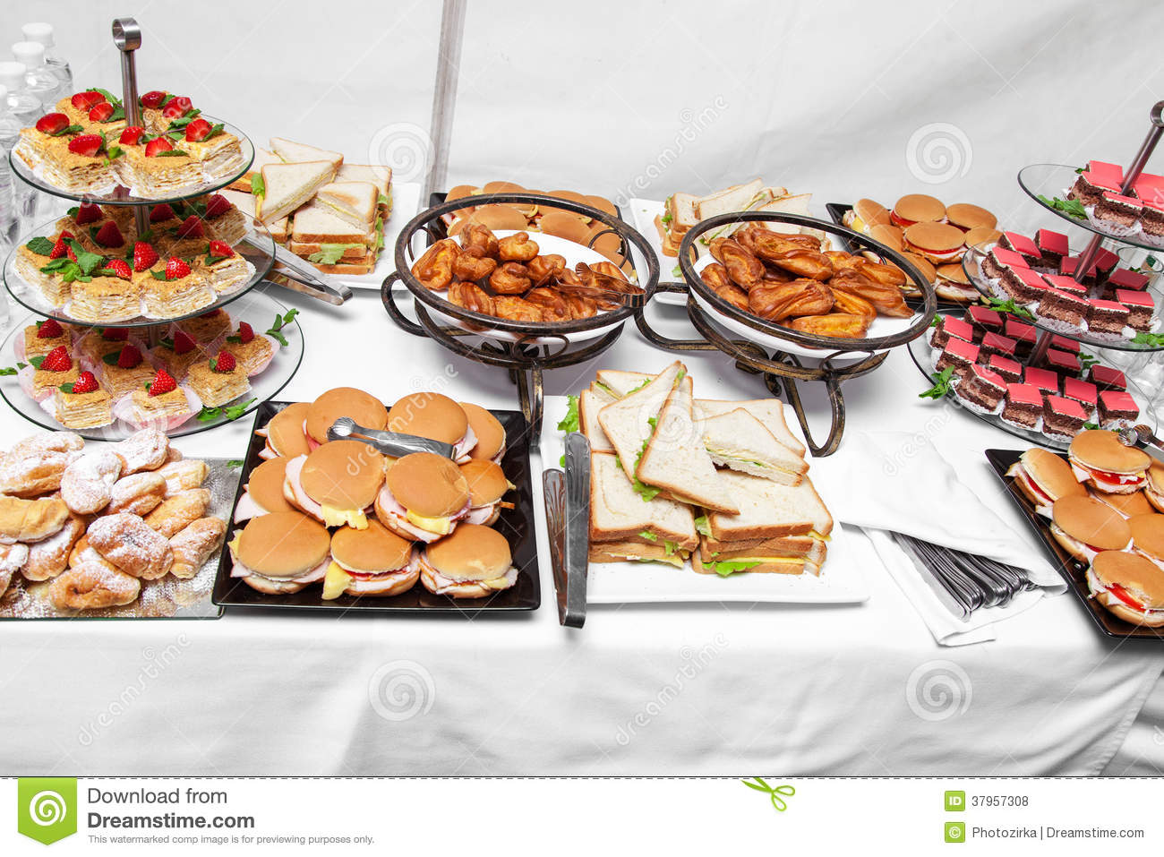 Buffet Breakfast (smorgasbord) Stock Photo - Image: 39753095
