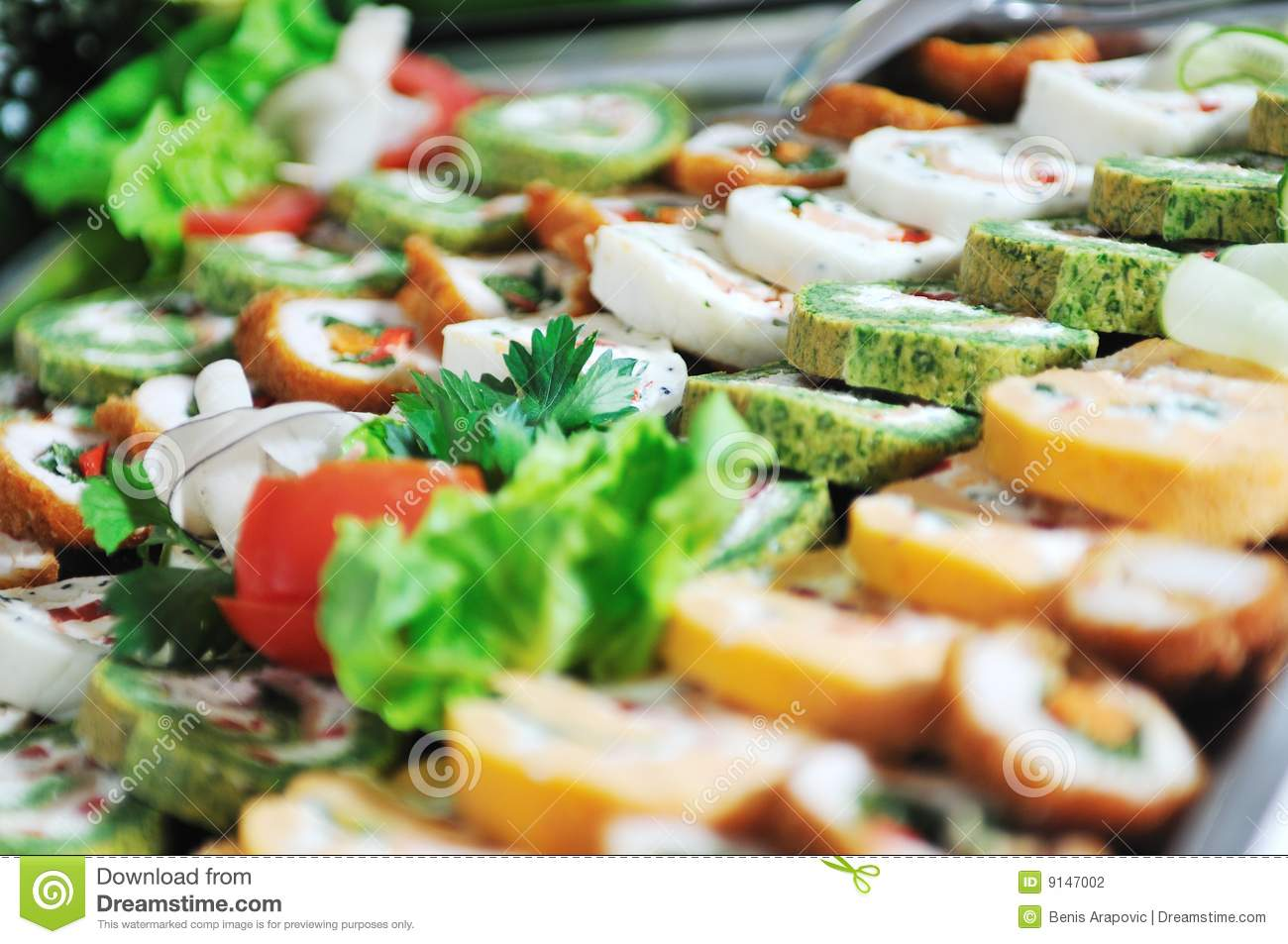 Buffet Food Stock Photography Image 9147002