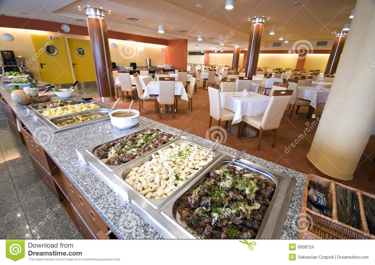 Buffet in hotel dining room stock photo image 6938724 for W hotel in room dining menu singapore