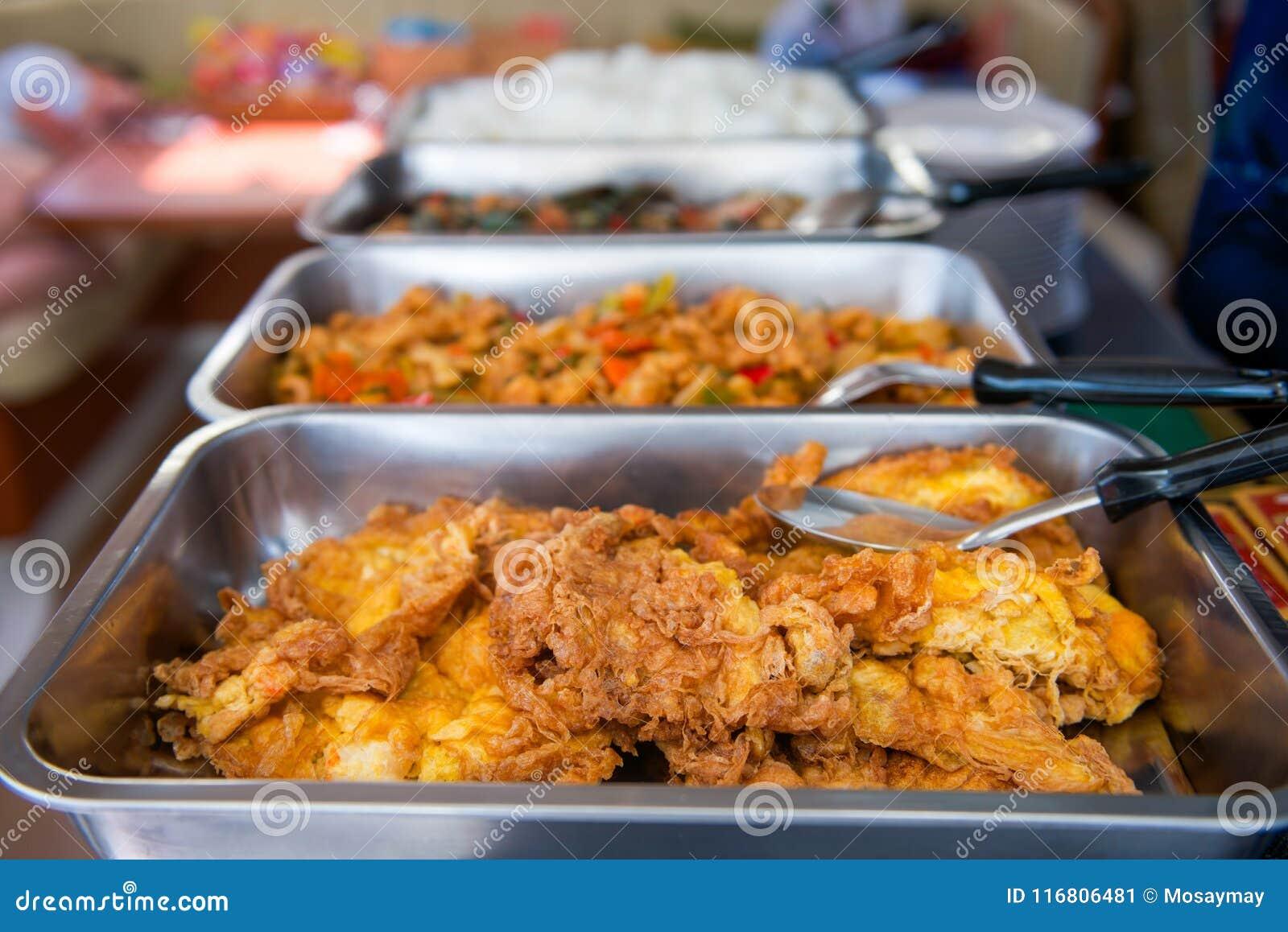 Buffet per pranzo sulla barca