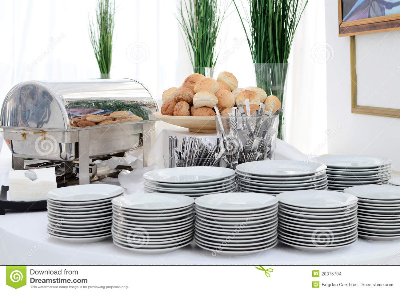 Buffet setting. Catering elegance. & Buffet setting stock photo. Image of catering elegance - 20375704