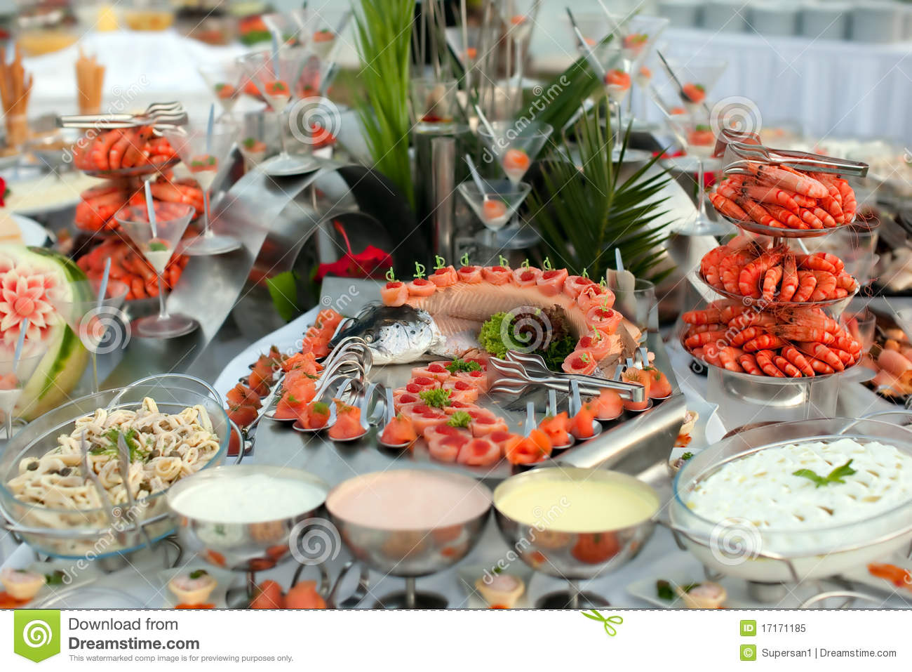 Buffet table with seafood stock image image of lunch 17171185 download comp watchthetrailerfo