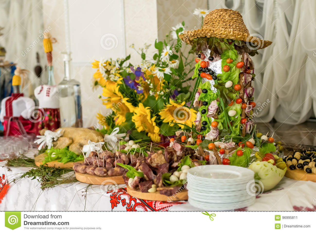 Incredible Buffets Appetizers Wedding Table Stock Image Image Of Download Free Architecture Designs Terstmadebymaigaardcom