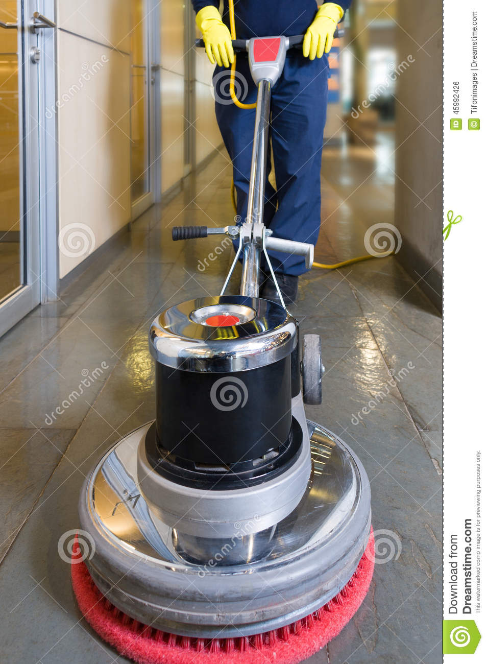 Buffing Machine Stock Photo Image 45992426