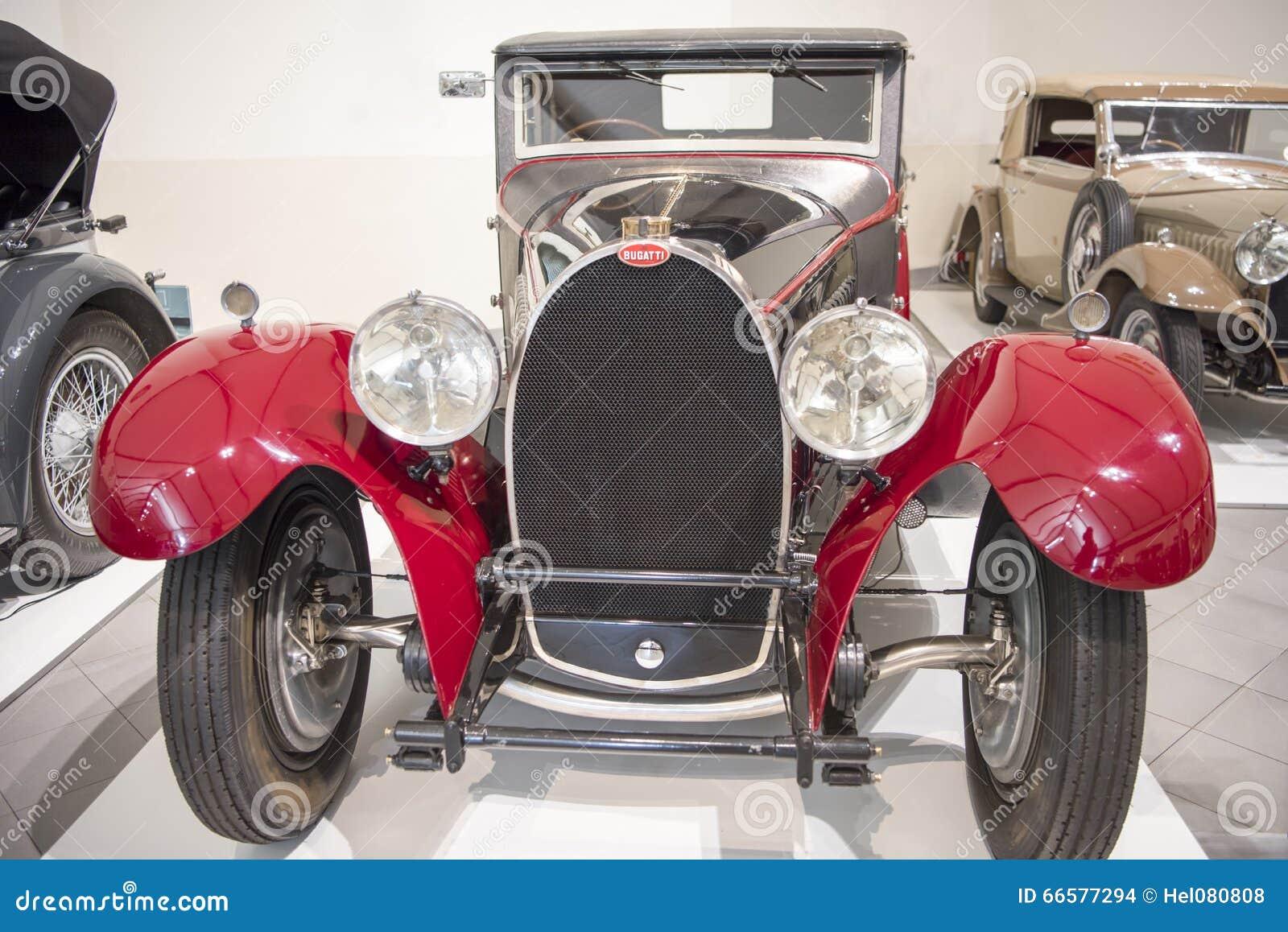 bugatti antique car editorial stock image image 66577294. Black Bedroom Furniture Sets. Home Design Ideas