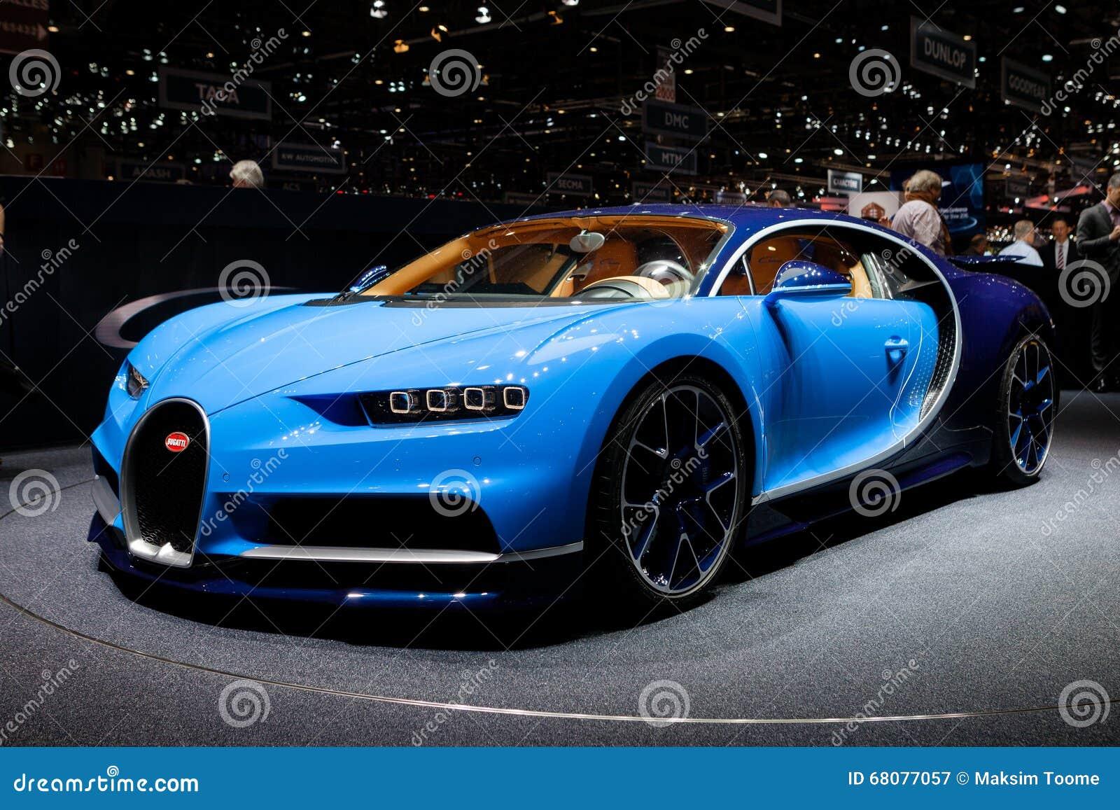 Bugatti Chiron в Женеве