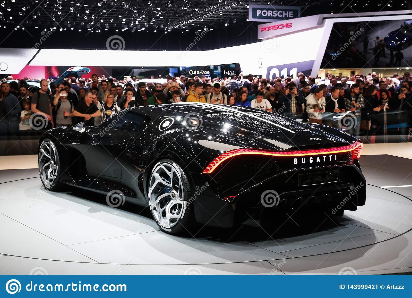 Download 2019 Bugatti La Voiture Noire Luxury Car: Bugatti La Voiture Noire Editorial Photo. Image Of Back