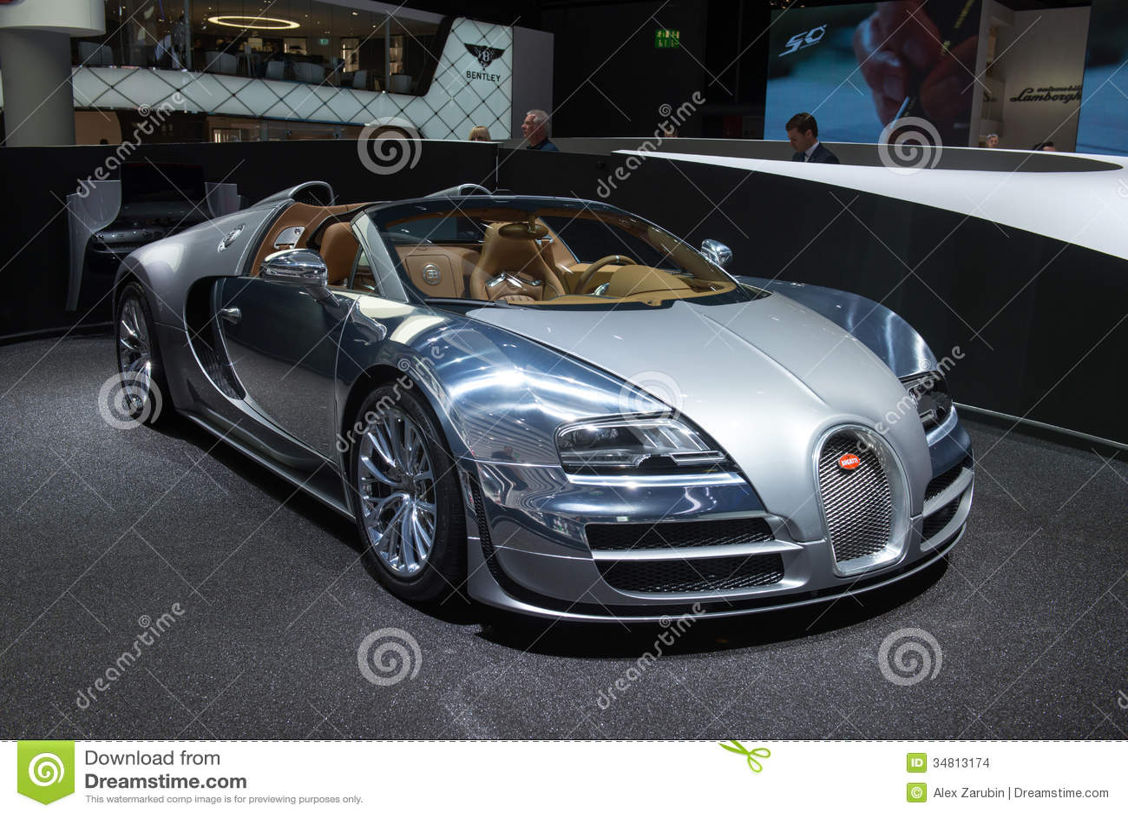 bugatti veyron 16 4 grand sport vitesse jean bugatti editorial stock image image 34813174. Black Bedroom Furniture Sets. Home Design Ideas