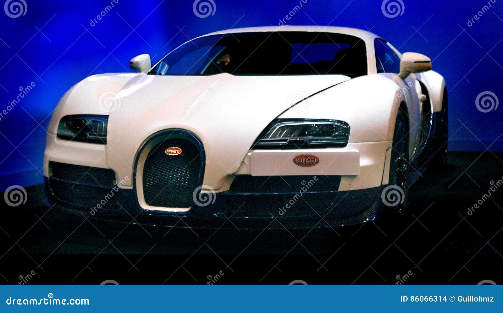 bugatti veyron sport car editorial stock image image 86066314. Black Bedroom Furniture Sets. Home Design Ideas