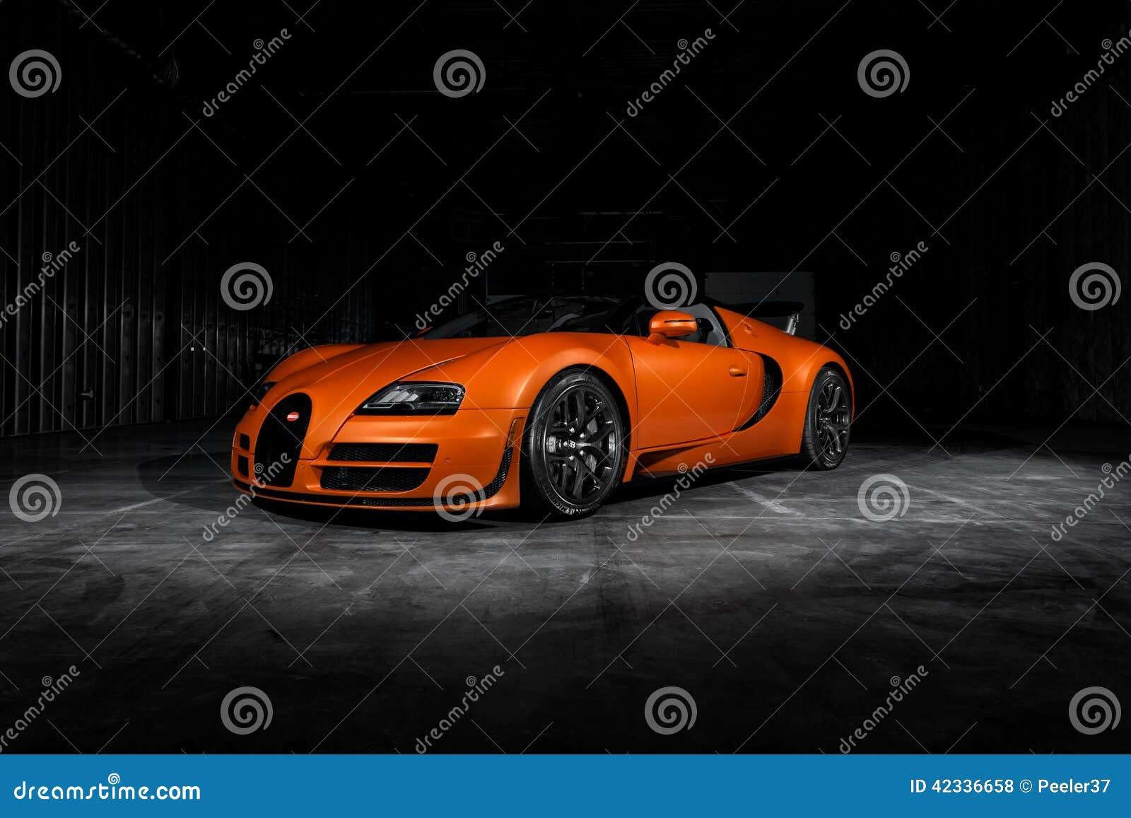 bugatti veyron vitesse redactionele stock foto afbeelding bestaande uit auto 42336658. Black Bedroom Furniture Sets. Home Design Ideas