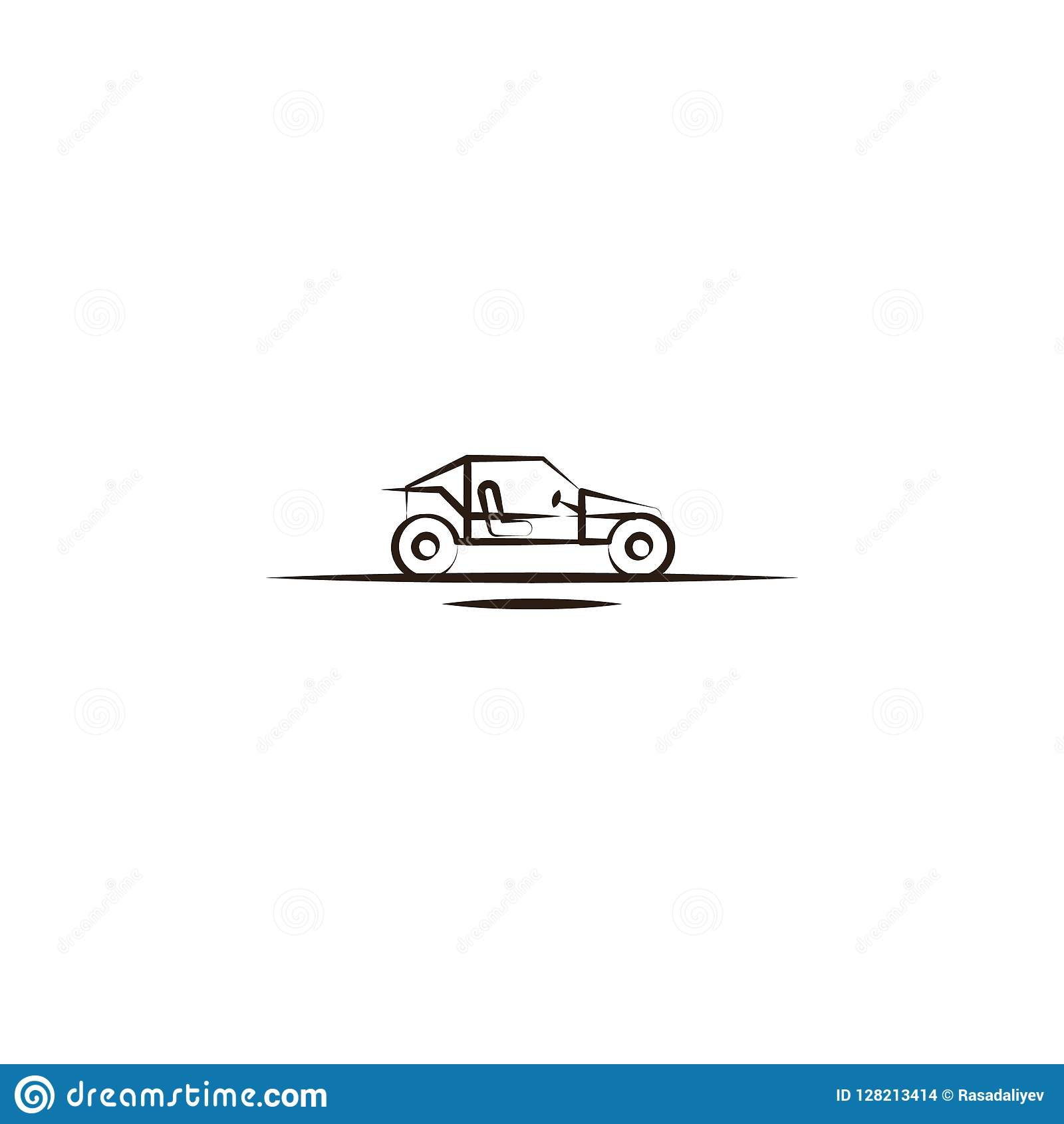 Buggies Desert Car Icon Element Of Desert Icon For Mobile Concept