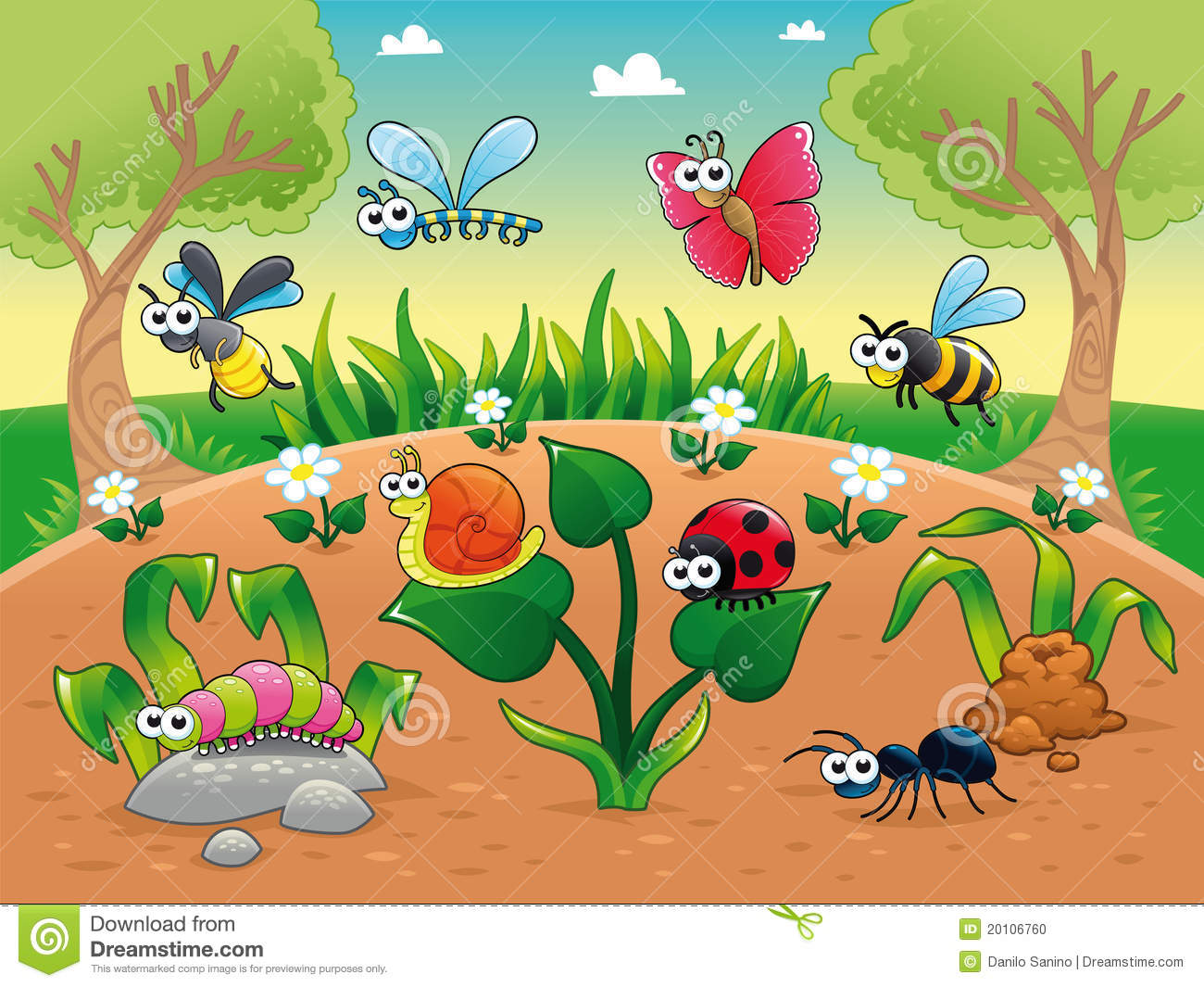 bugs 1 snail with background stock vector snail clip art to color snail clipart
