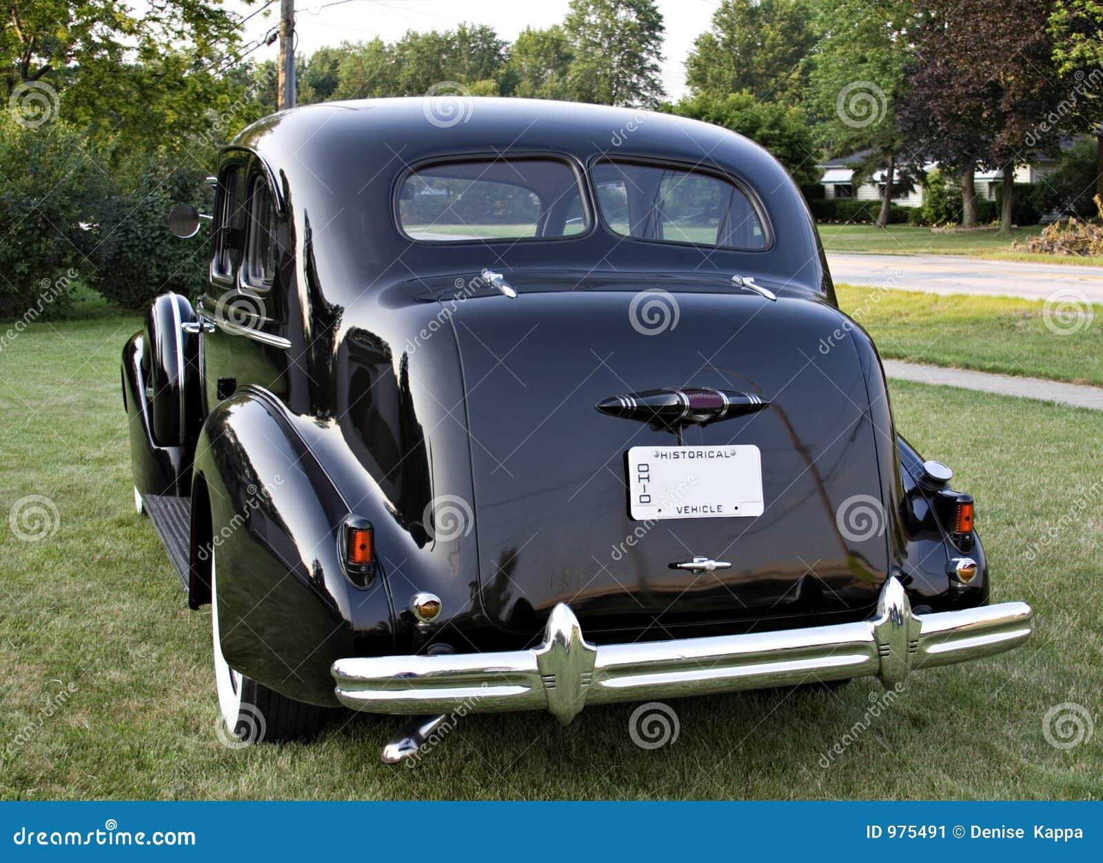 Buick后面视图葡萄酒