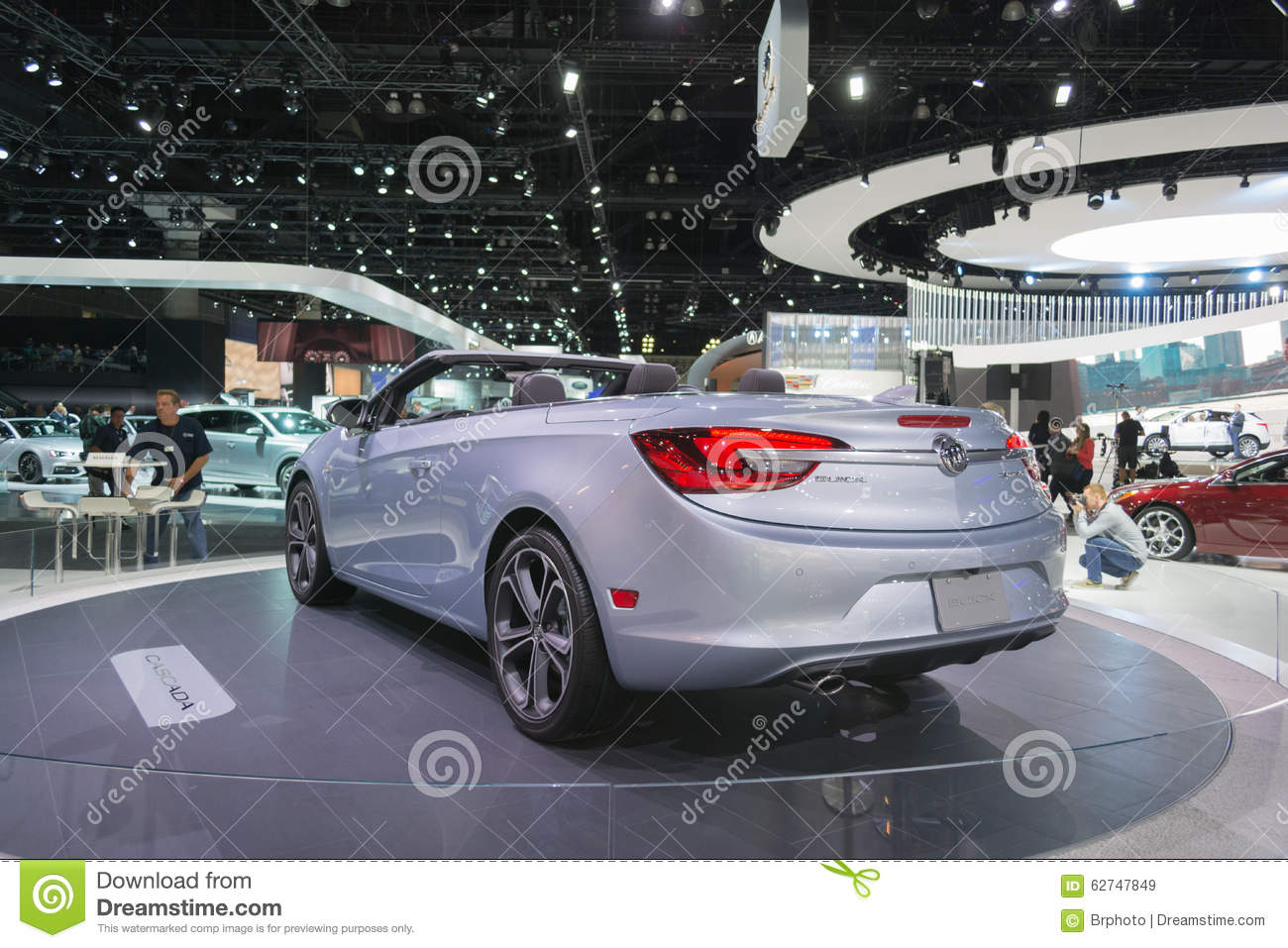 Buick cascada on display editorial stock image image for Dream motors los angeles