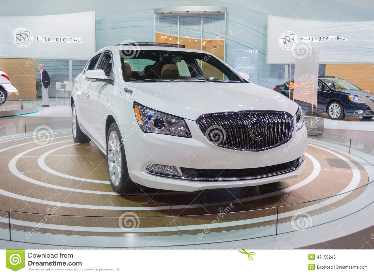 Buick lacrosse car on display at the la auto show for Dream motors los angeles