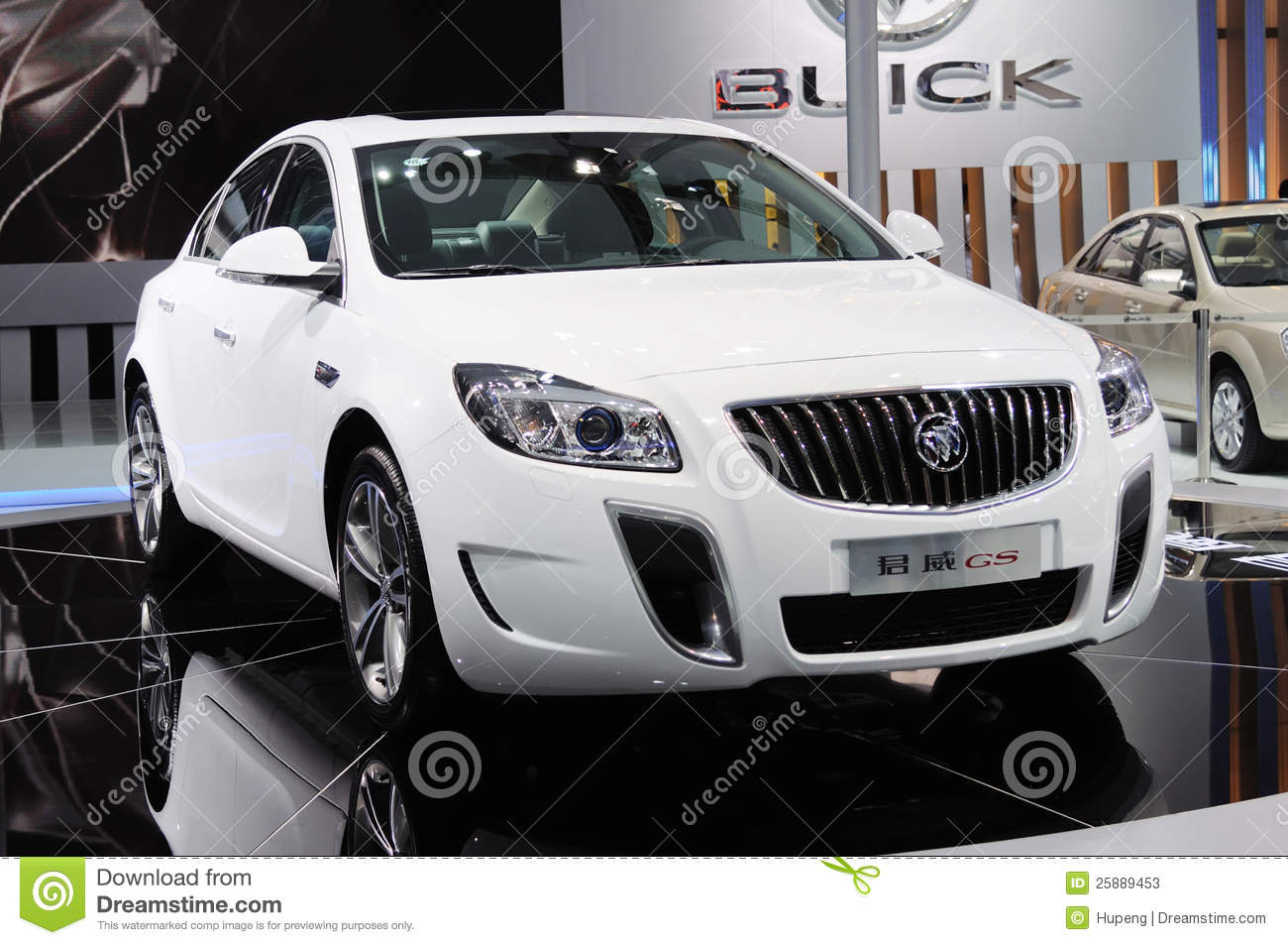 Buick Regal BRANCO GS
