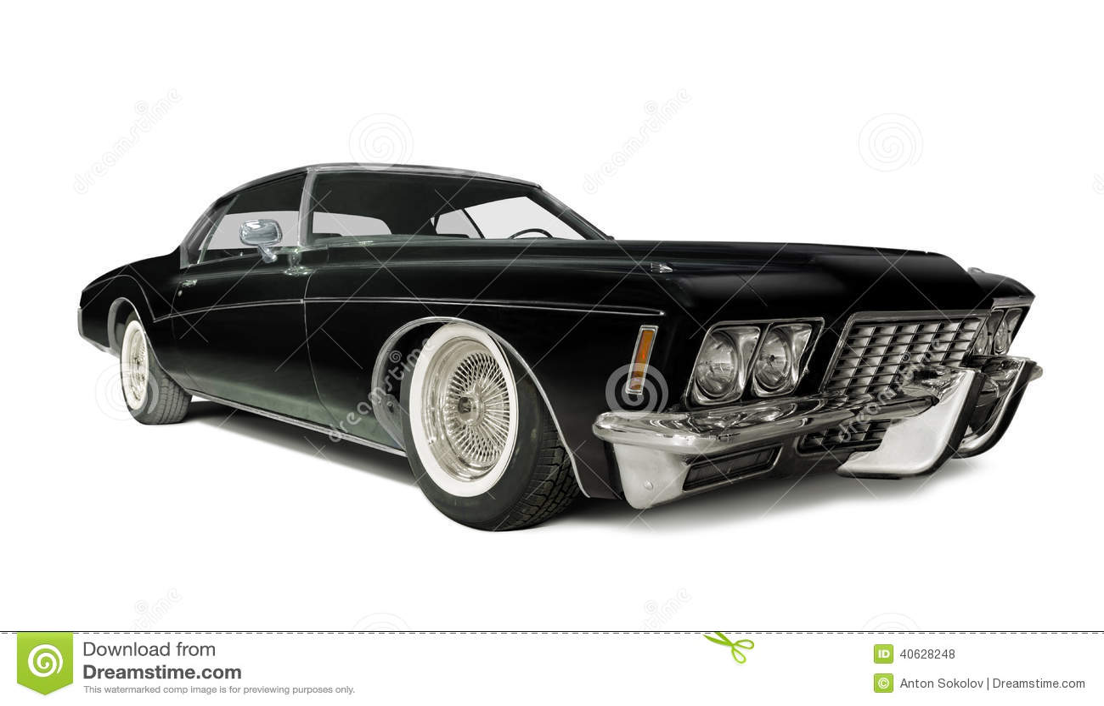 Buick Riviera 1972 Stock Photo - Image: 40628248
