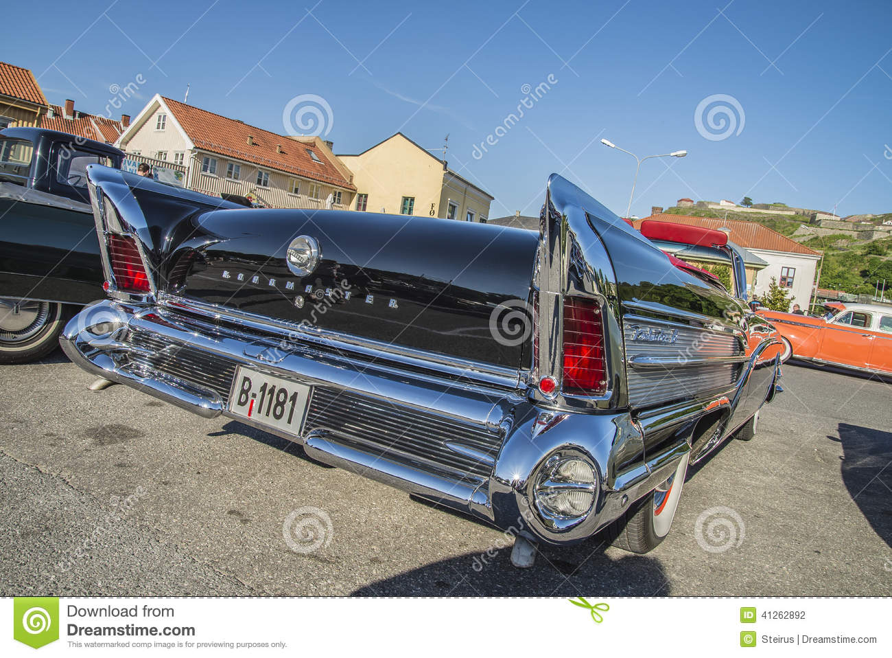 1958 Buick Roadmaster 75 Riviera Convertible Editorial Photography ...