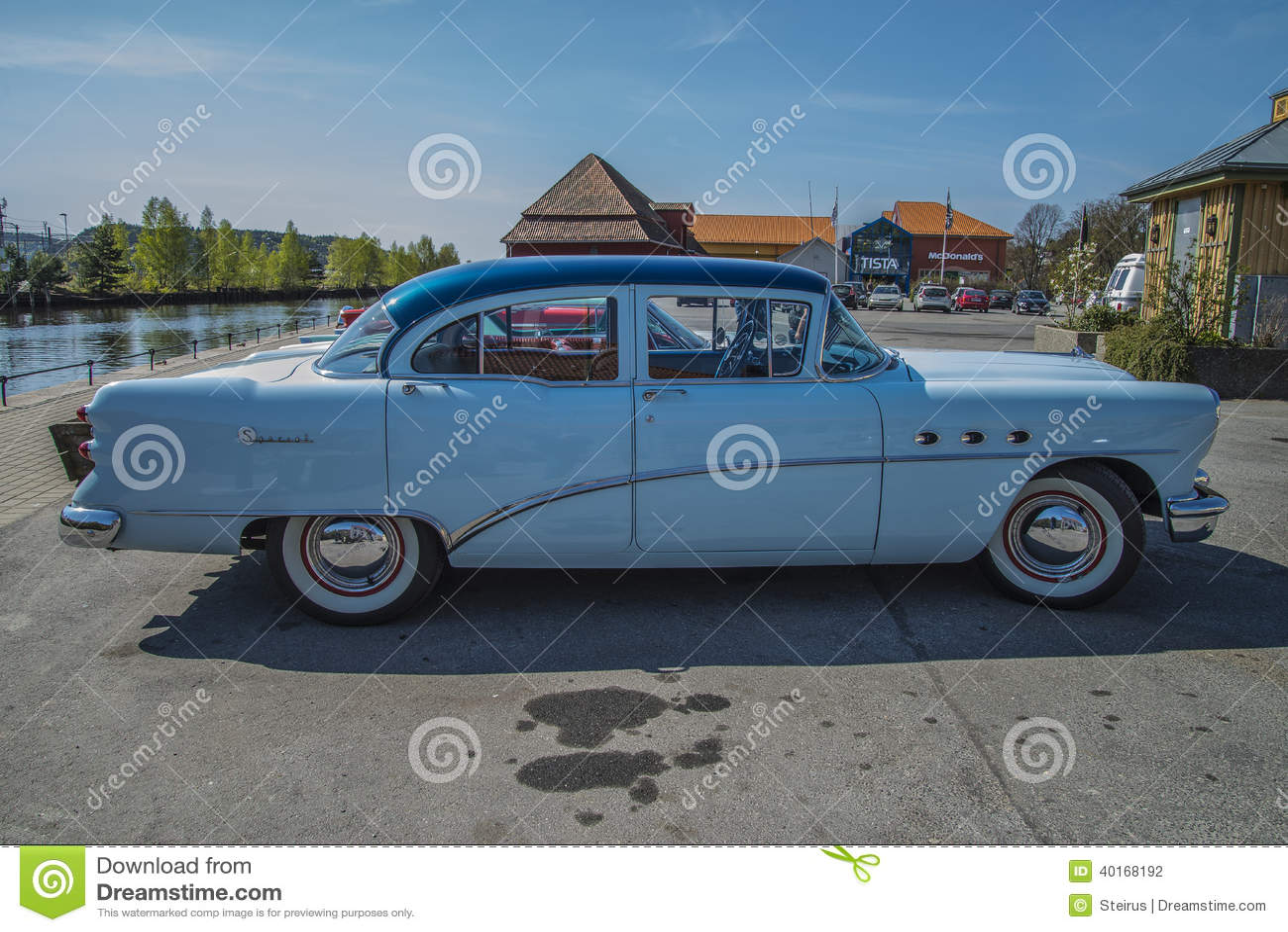 1954 Buick Special 4 Door Sedan Editorial Photography Image Of Wildcat Ii Concept Download Darkblue Transportation