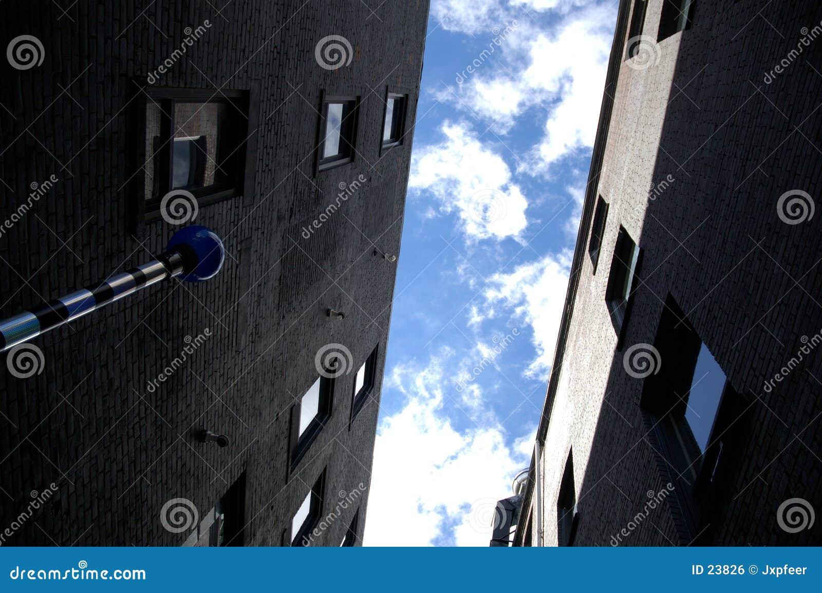 Buidings van de flat